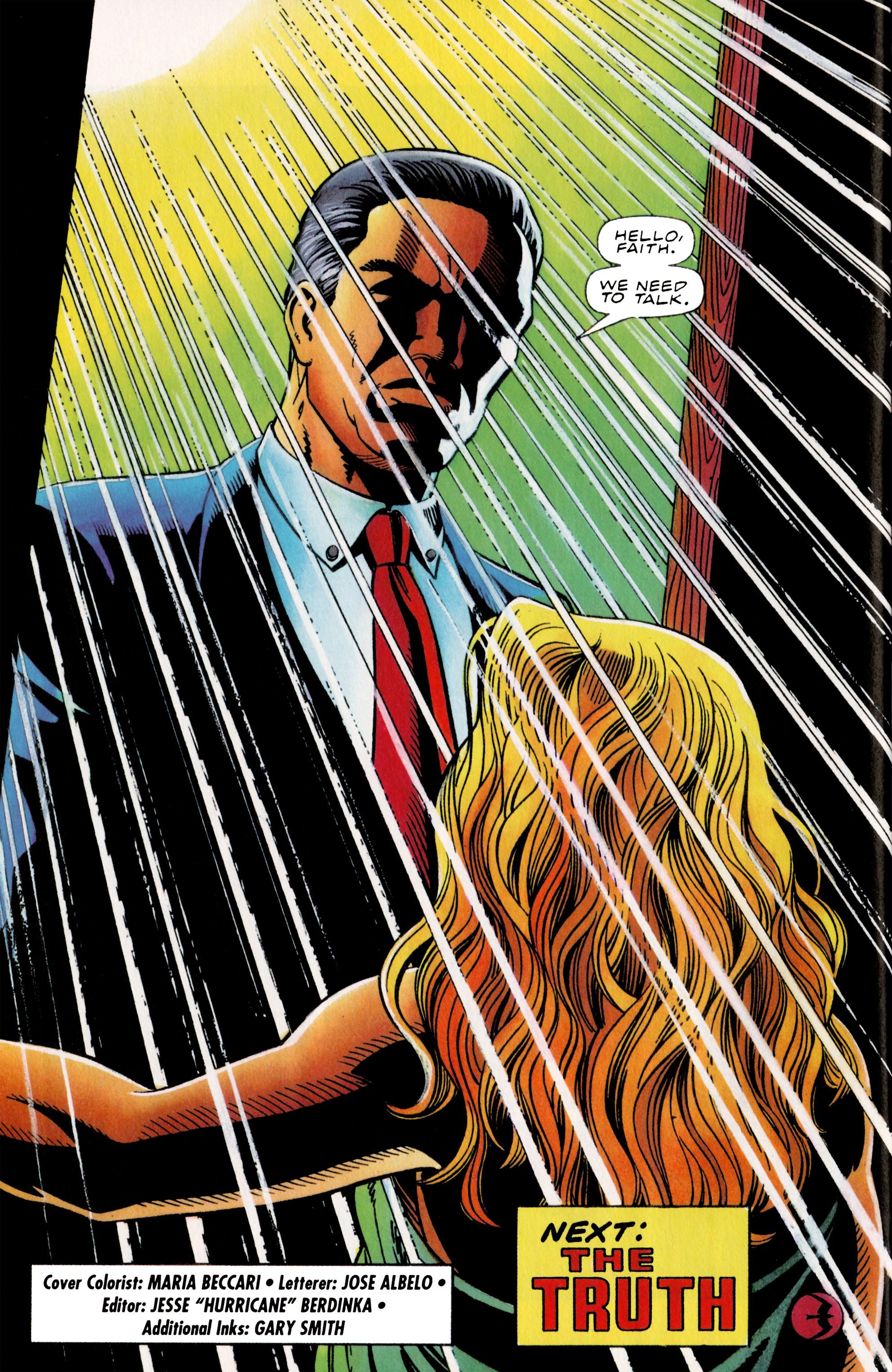 Read online Harbinger (1992) comic -  Issue #36 - 22