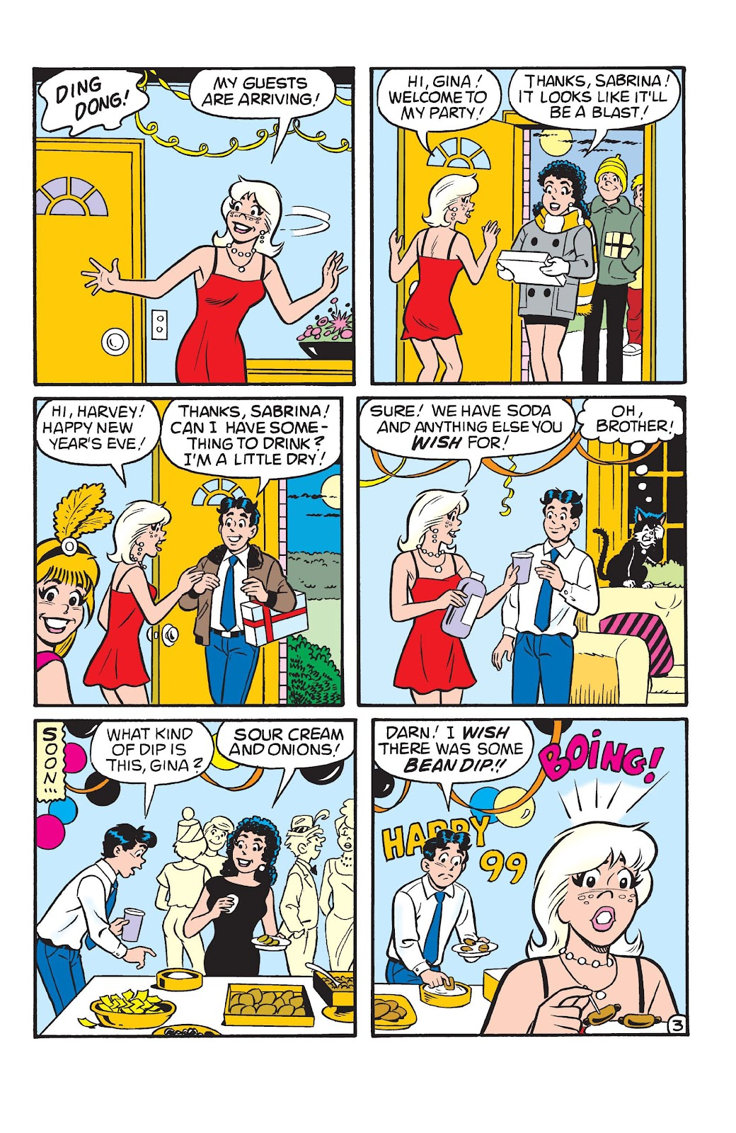 Sabrina the Teenage Witch (1997) Issue #22 #23 - English 21