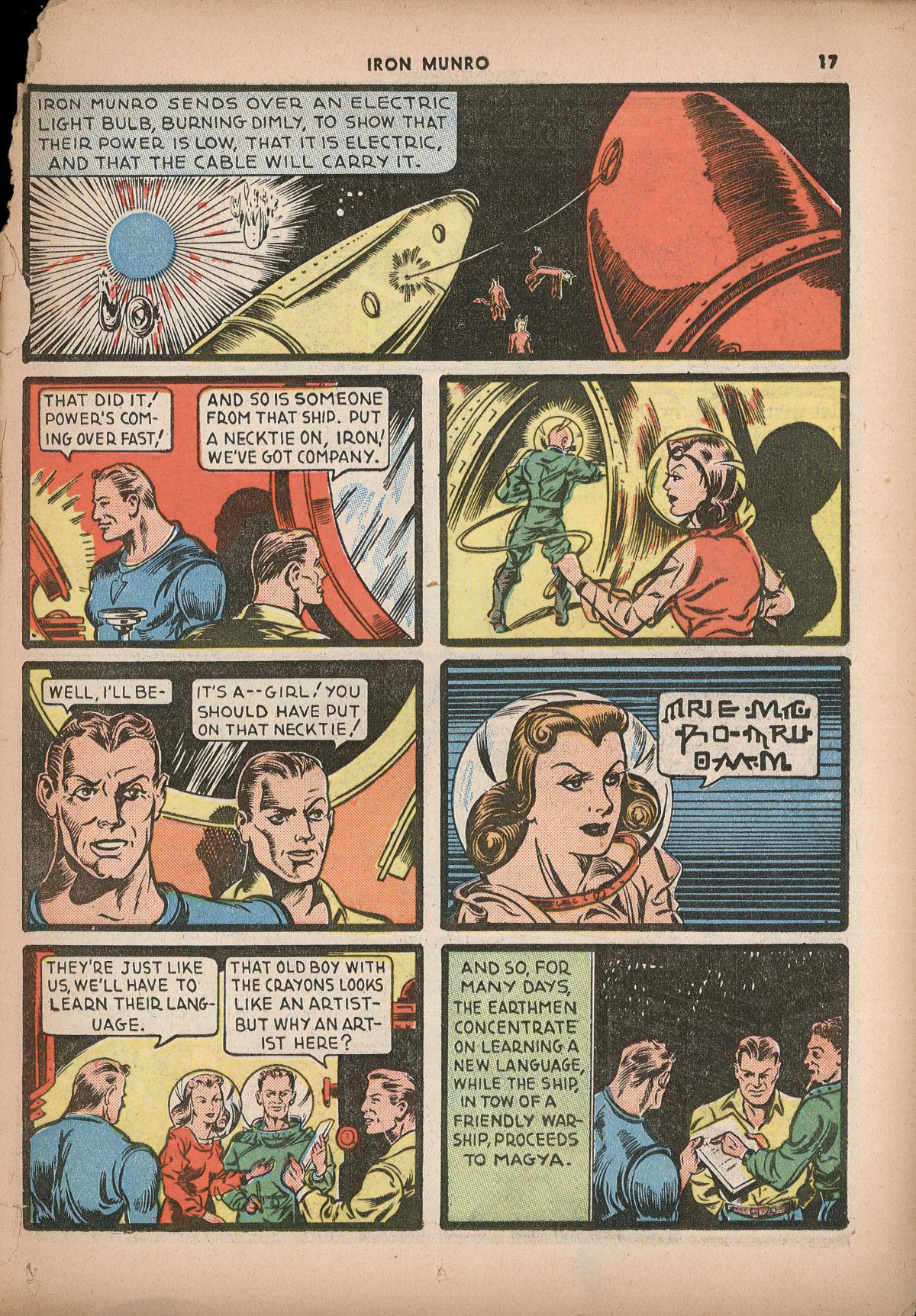 Read online Shadow Comics comic -  Issue #2 - 20