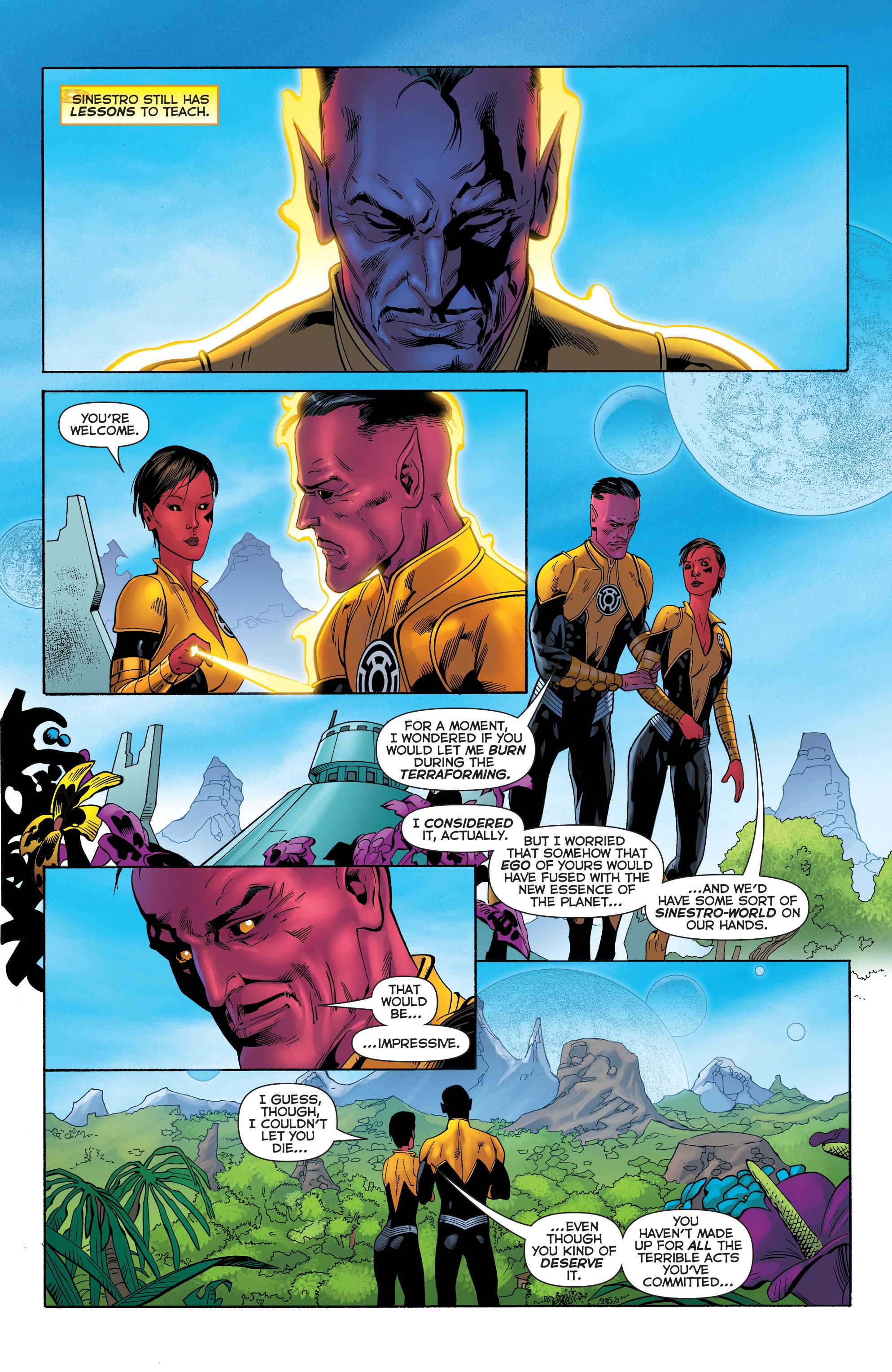 Read online Sinestro comic -  Issue #23 - 17