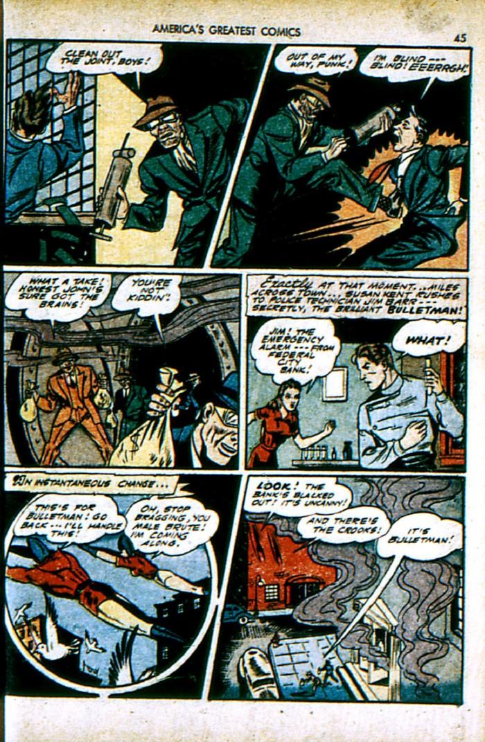 Read online America's Greatest Comics comic -  Issue #4 - 45