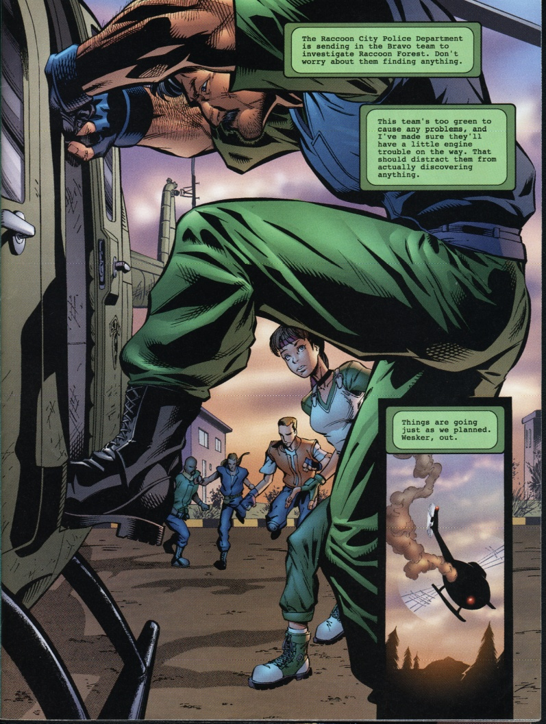 Resident Evil (1998) Issue #1 #1 - English 7