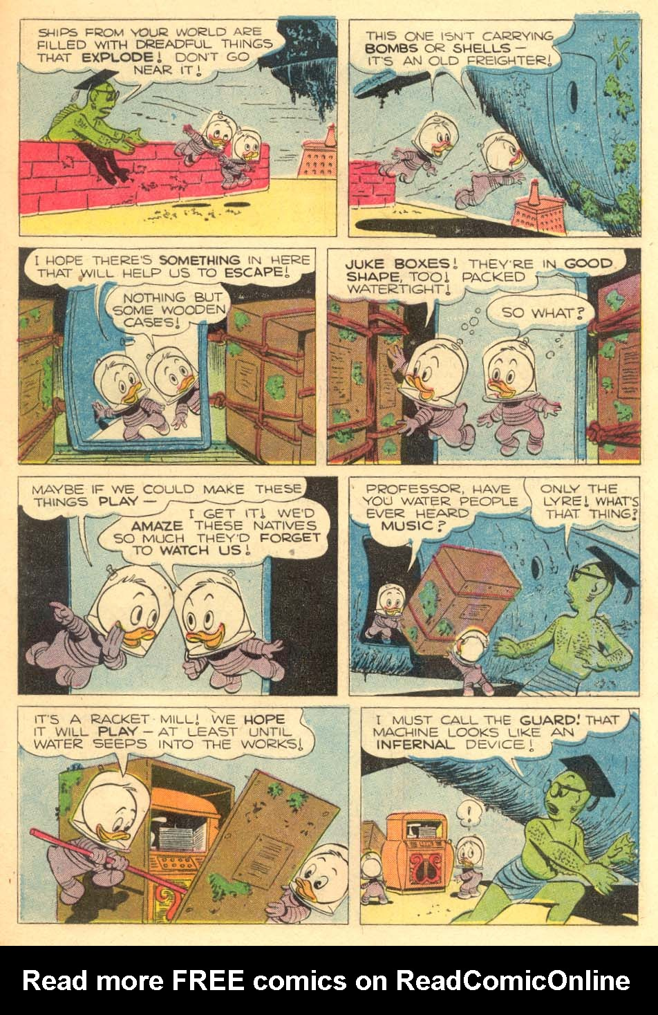 Read online Uncle Scrooge (1953) comic -  Issue #5 - 29