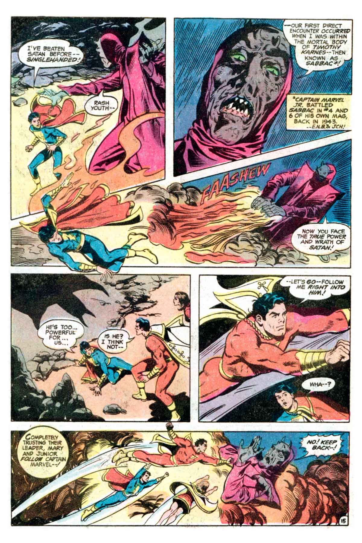 Read online Shazam! (1973) comic -  Issue #35 - 16