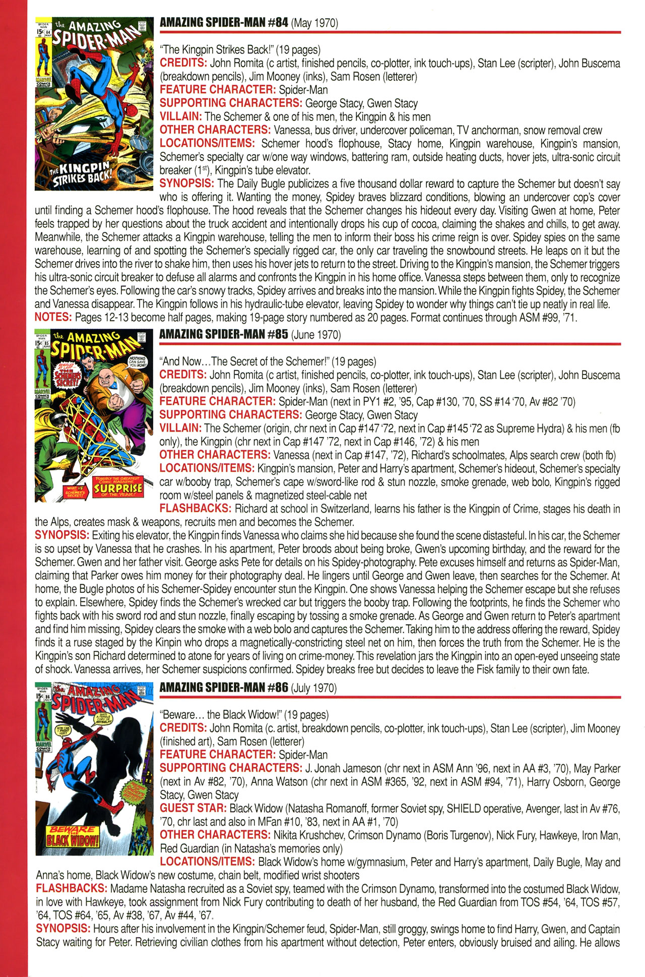 Read online Official Index to the Marvel Universe comic -  Issue #2 - 16