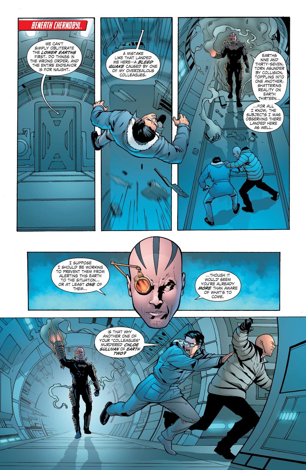 Read online Smallville Season 11 [II] comic -  Issue # TPB 6 - 137