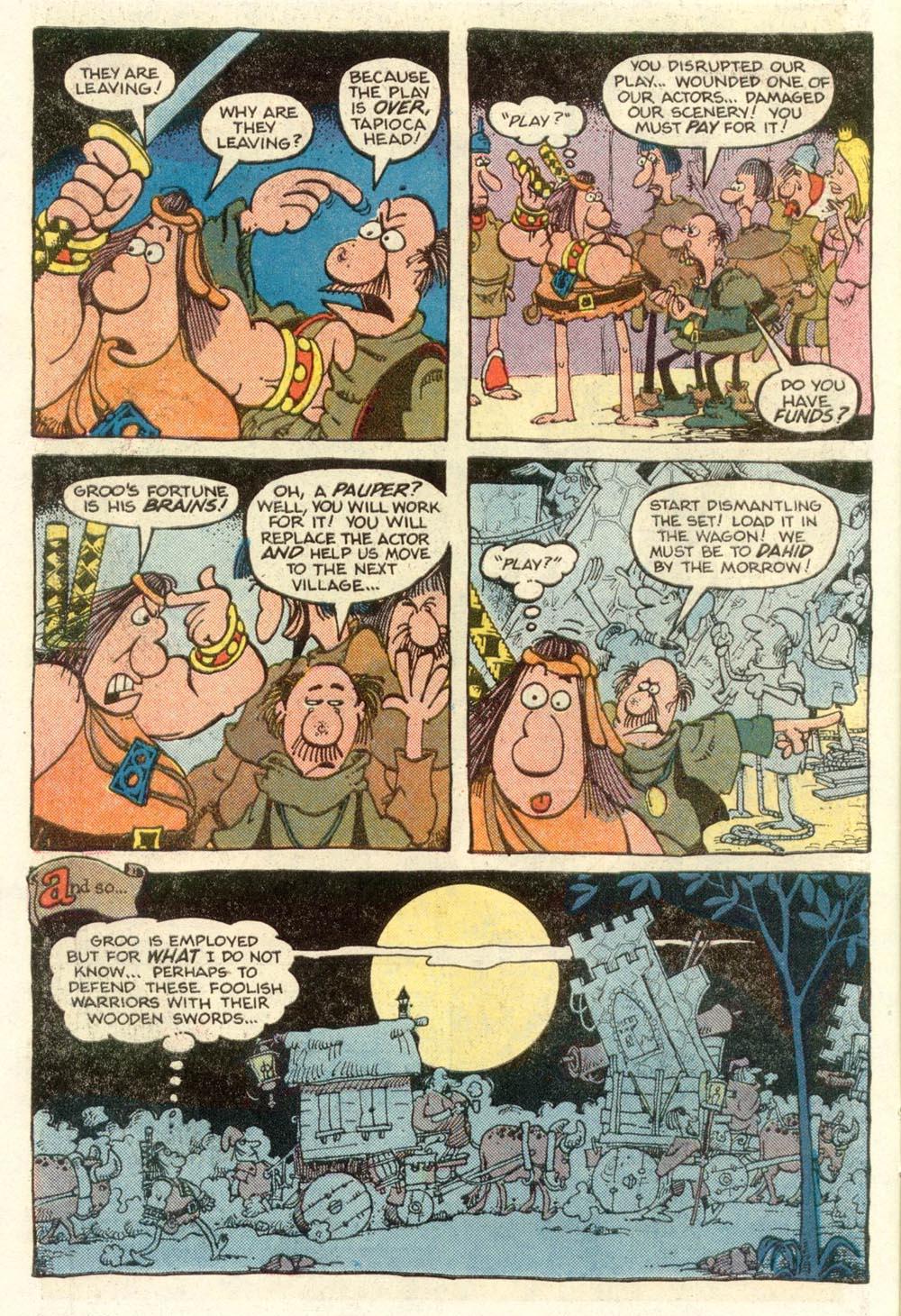 Read online Sergio Aragonés Groo the Wanderer comic -  Issue #12 - 6
