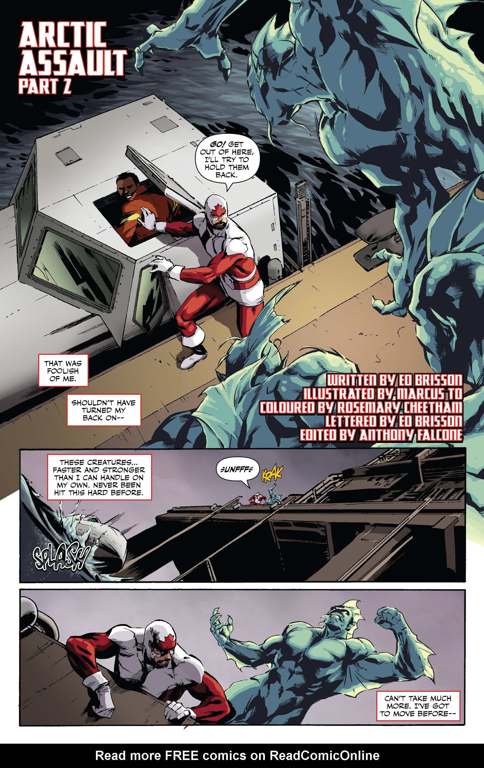 Read online All-New Classic Captain Canuck comic -  Issue #0 - 17