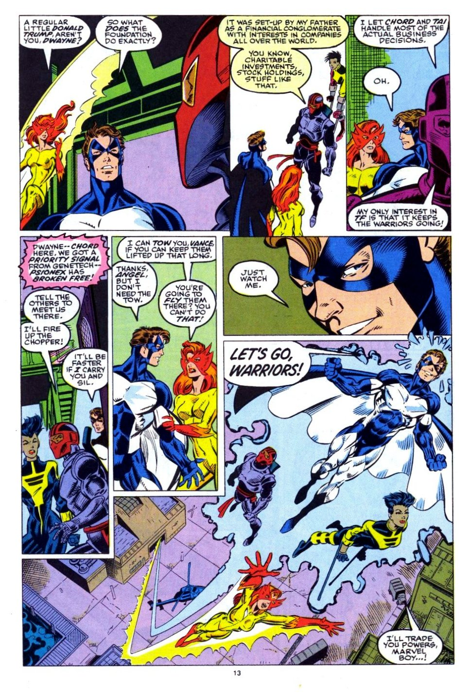 The New Warriors Issue #15 #19 - English 11