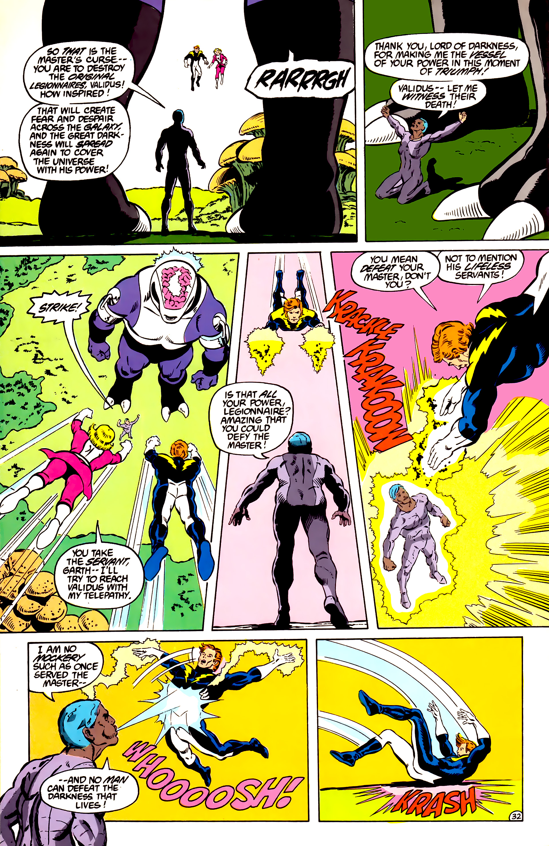 Legion of Super-Heroes (1984) _Annual_2 Page 33
