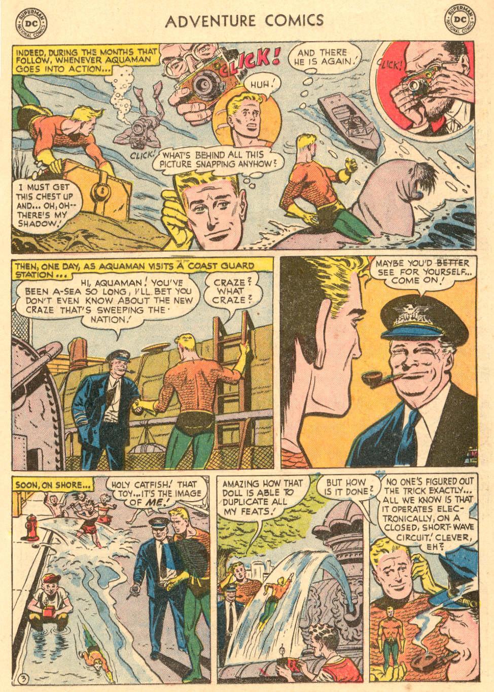 Read online Adventure Comics (1938) comic -  Issue #208 - 17