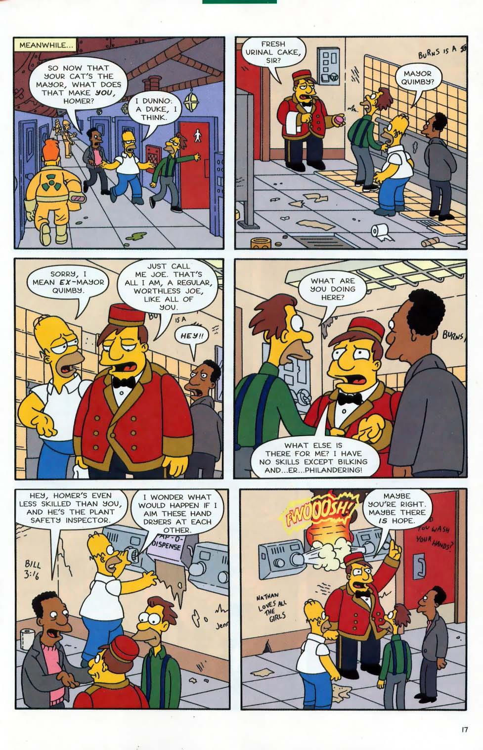 Read online Simpsons Comics comic -  Issue #87 - 18