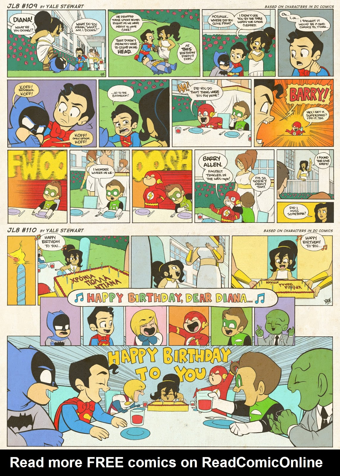 Read online JL8 – The Complete Collection comic -  Issue # TPB (Part 1) - 51