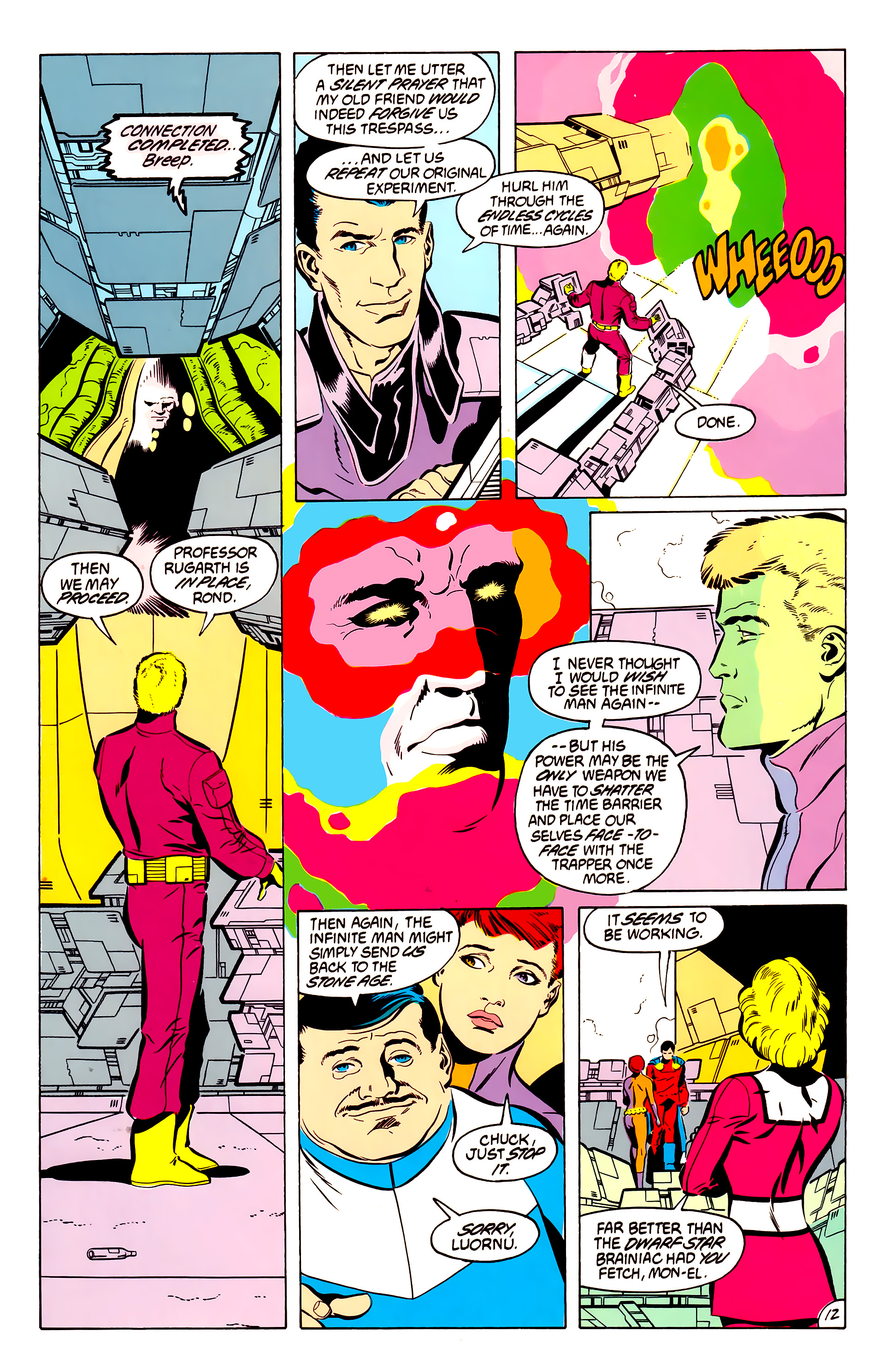 Legion of Super-Heroes (1984) 50 Page 12