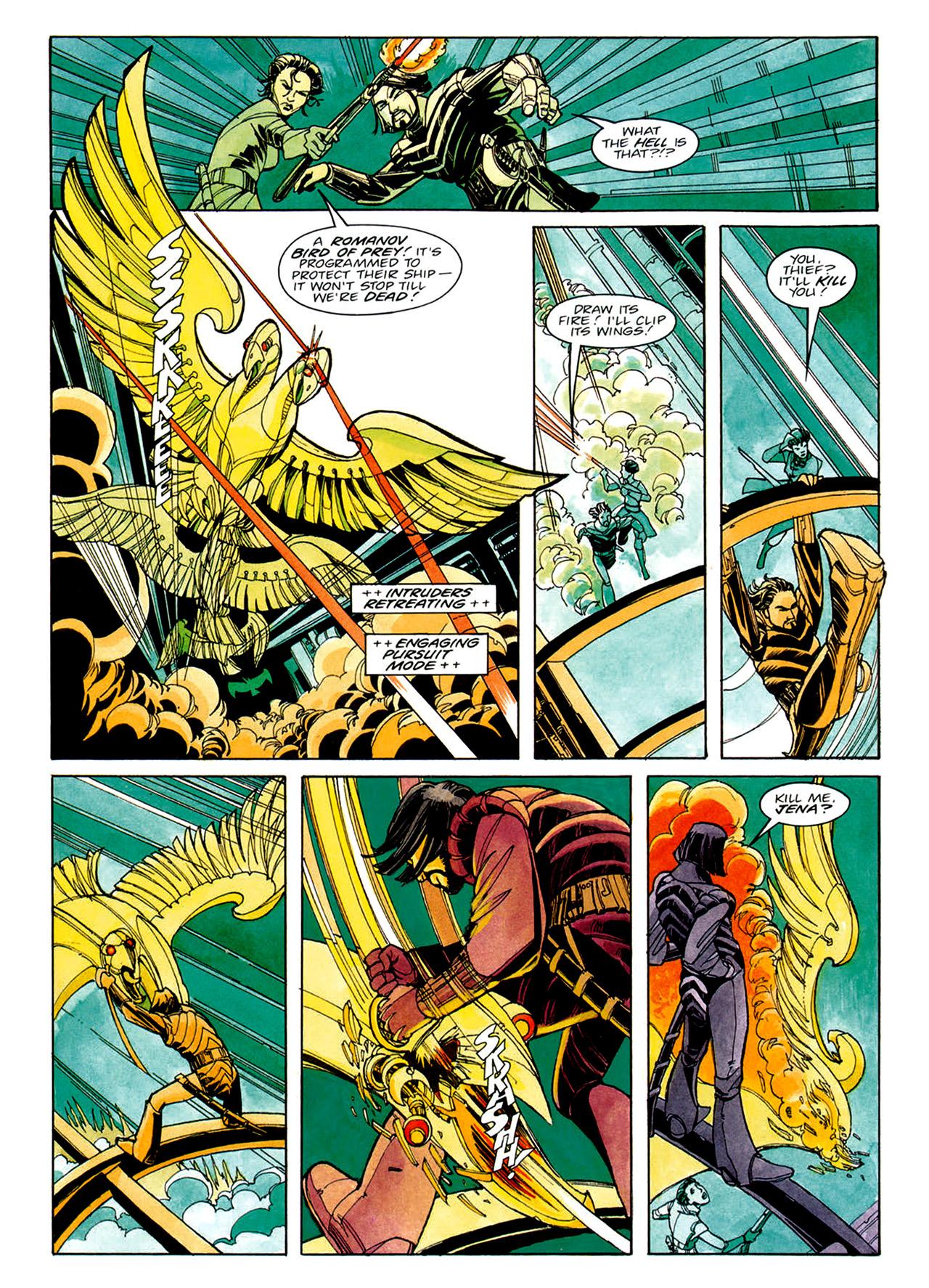 Read online Nikolai Dante comic -  Issue # TPB 1 - 23