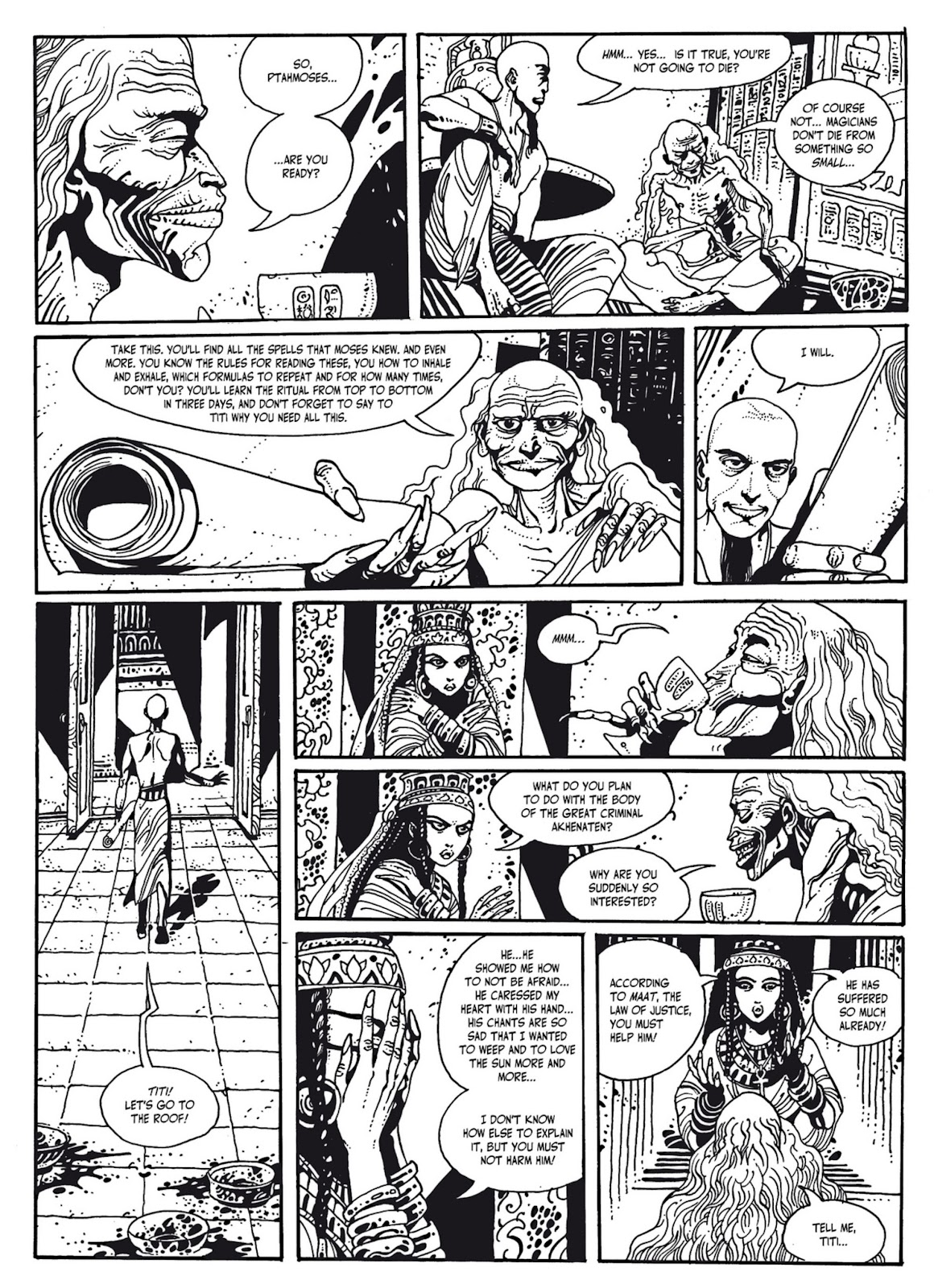 Read online The Egyptian Princesses comic -  Issue # TPB 1 (Part 3) - 16