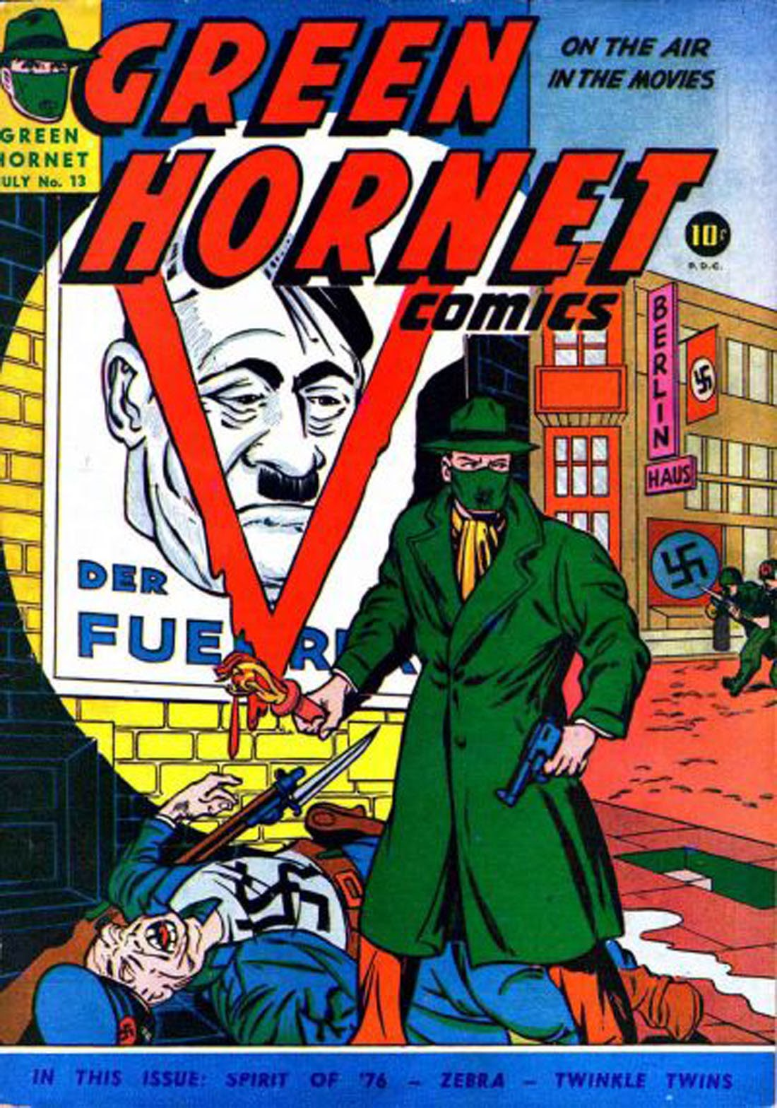 Green Hornet Comics 13 Page 1