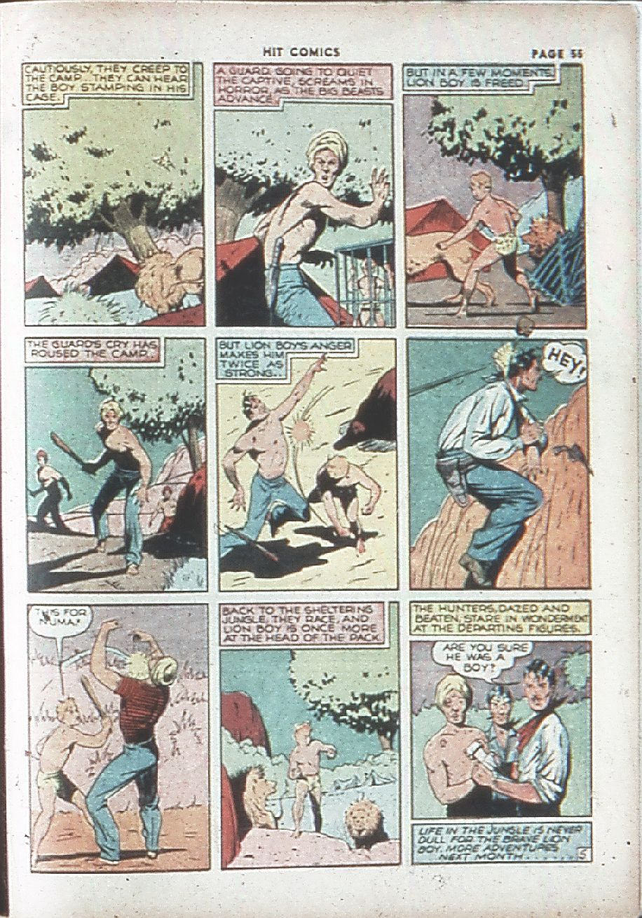 Read online Hit Comics comic -  Issue #7 - 57