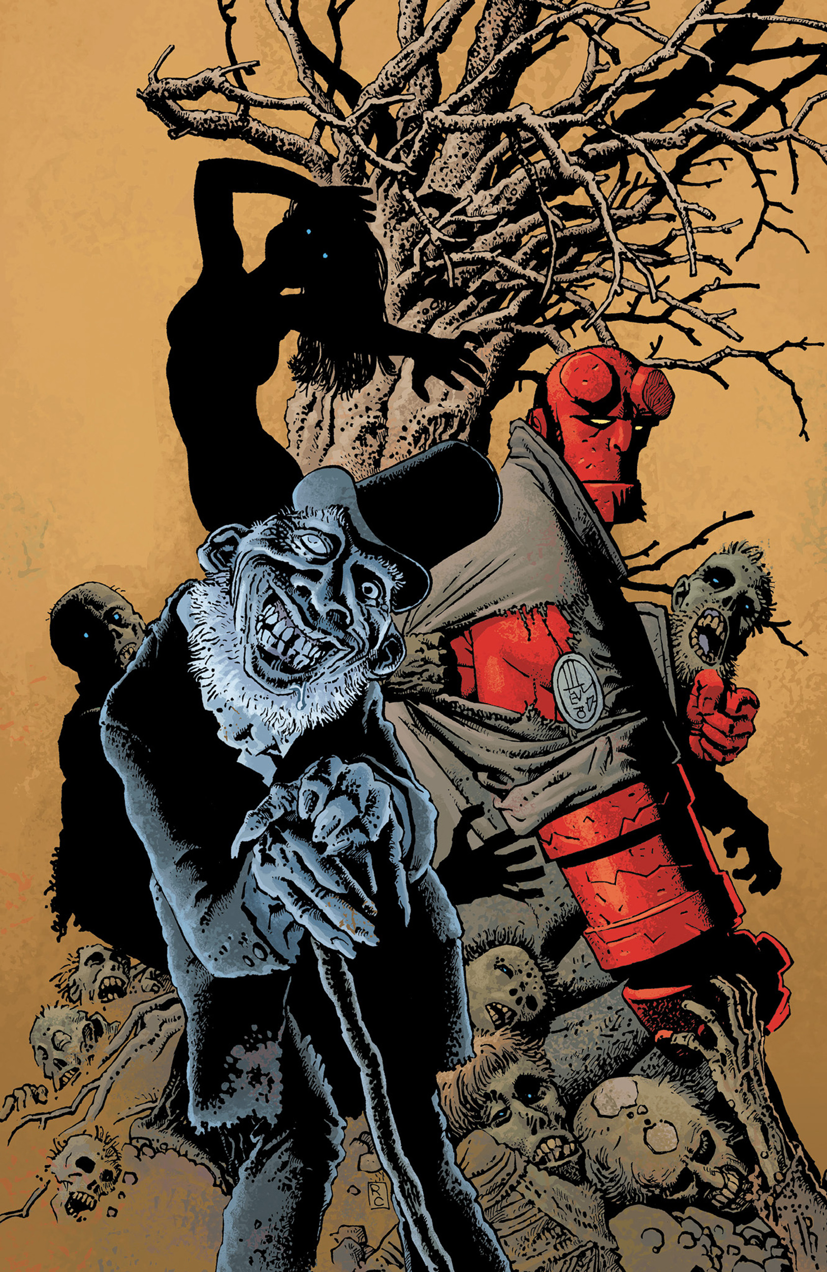 Read online Hellboy: The Crooked Man and Others comic -  Issue # TPB - 156