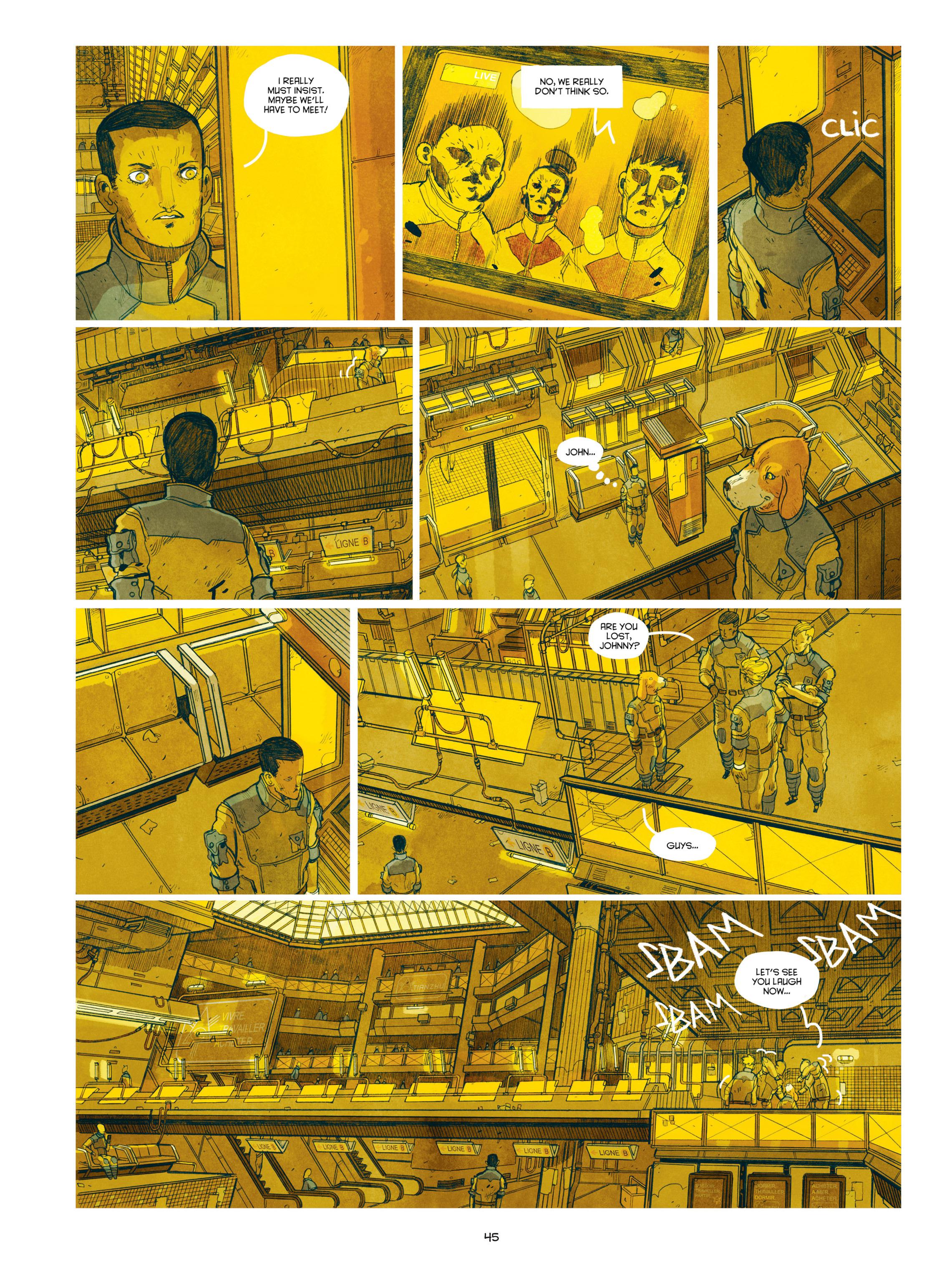 Read online Shangri-La comic -  Issue # Full - 47