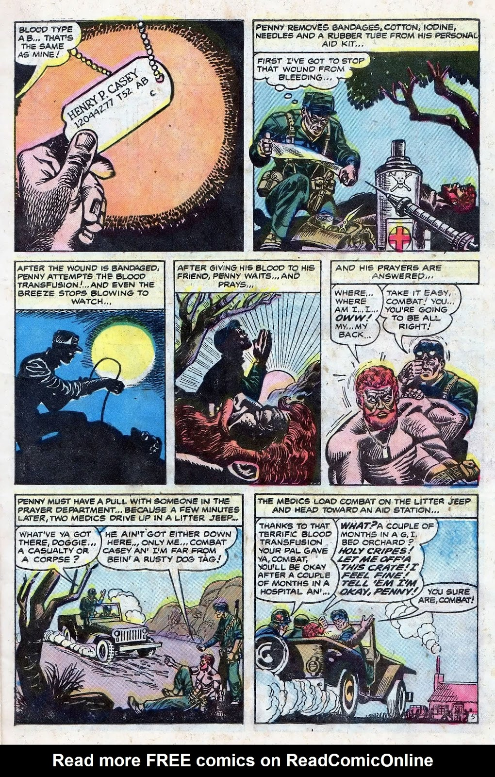 Combat (1952) issue 8 - Page 7