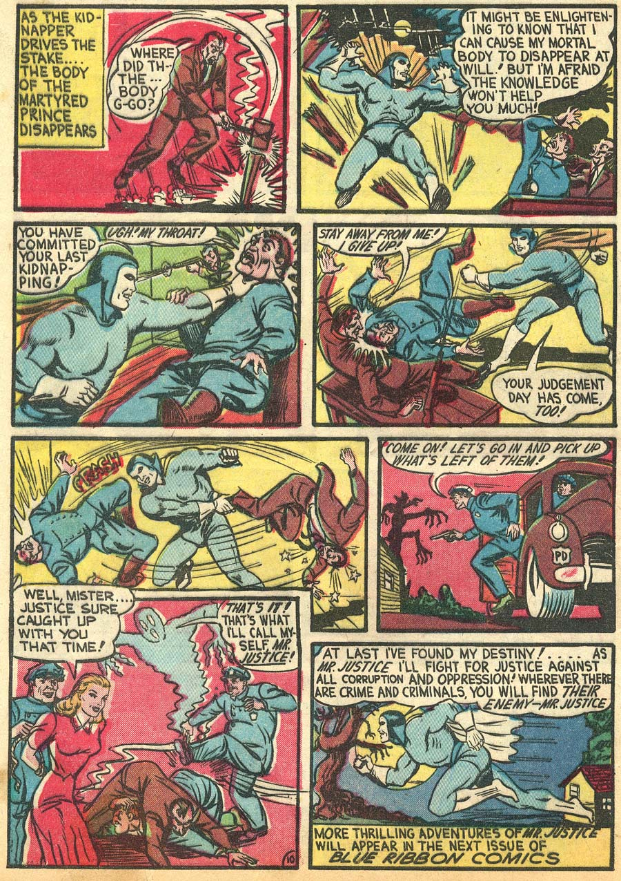 Blue Ribbon Comics (1939) issue 9 - Page 12