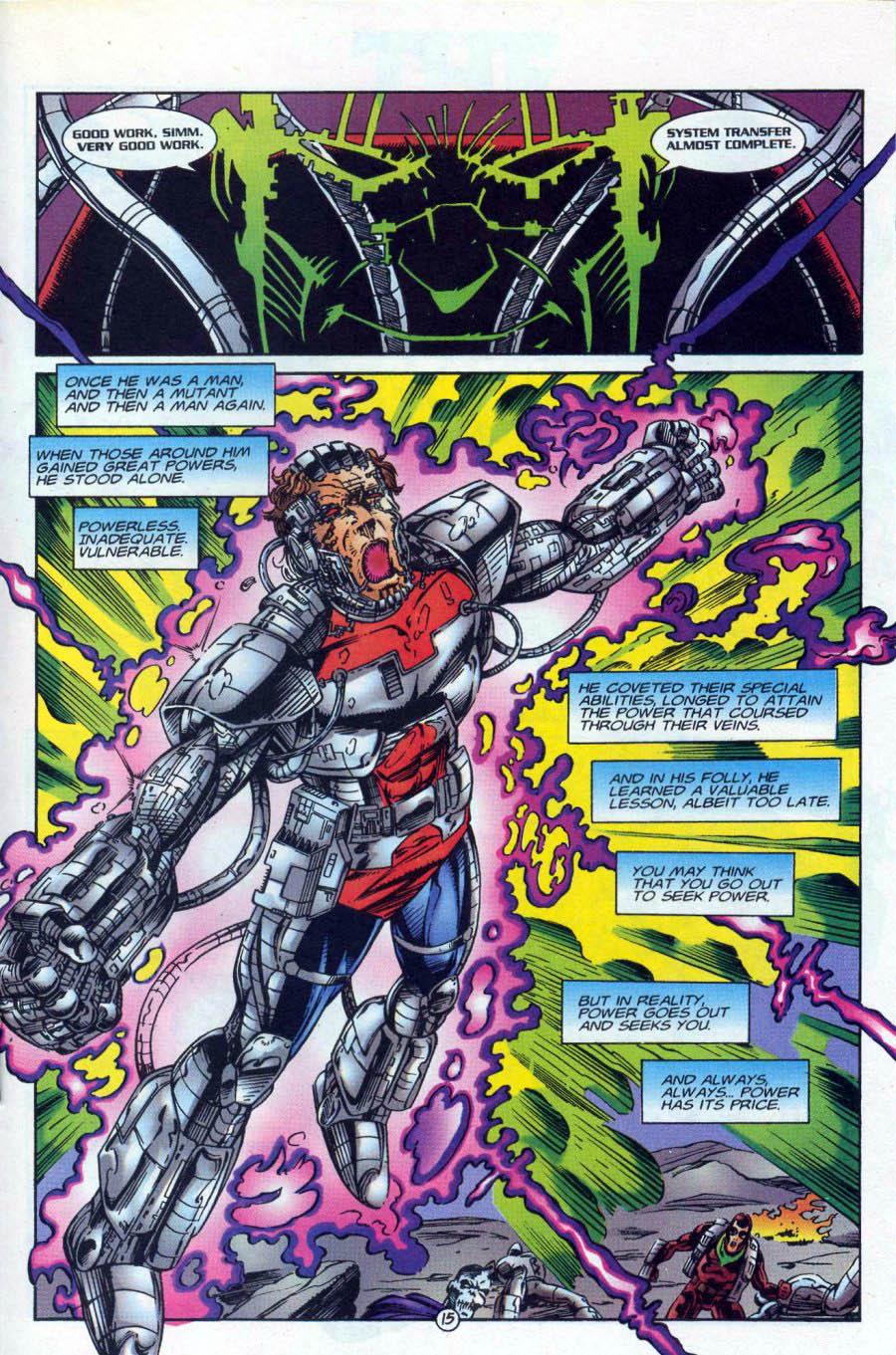 Read online Ex-Mutants comic -  Issue #18 - 15