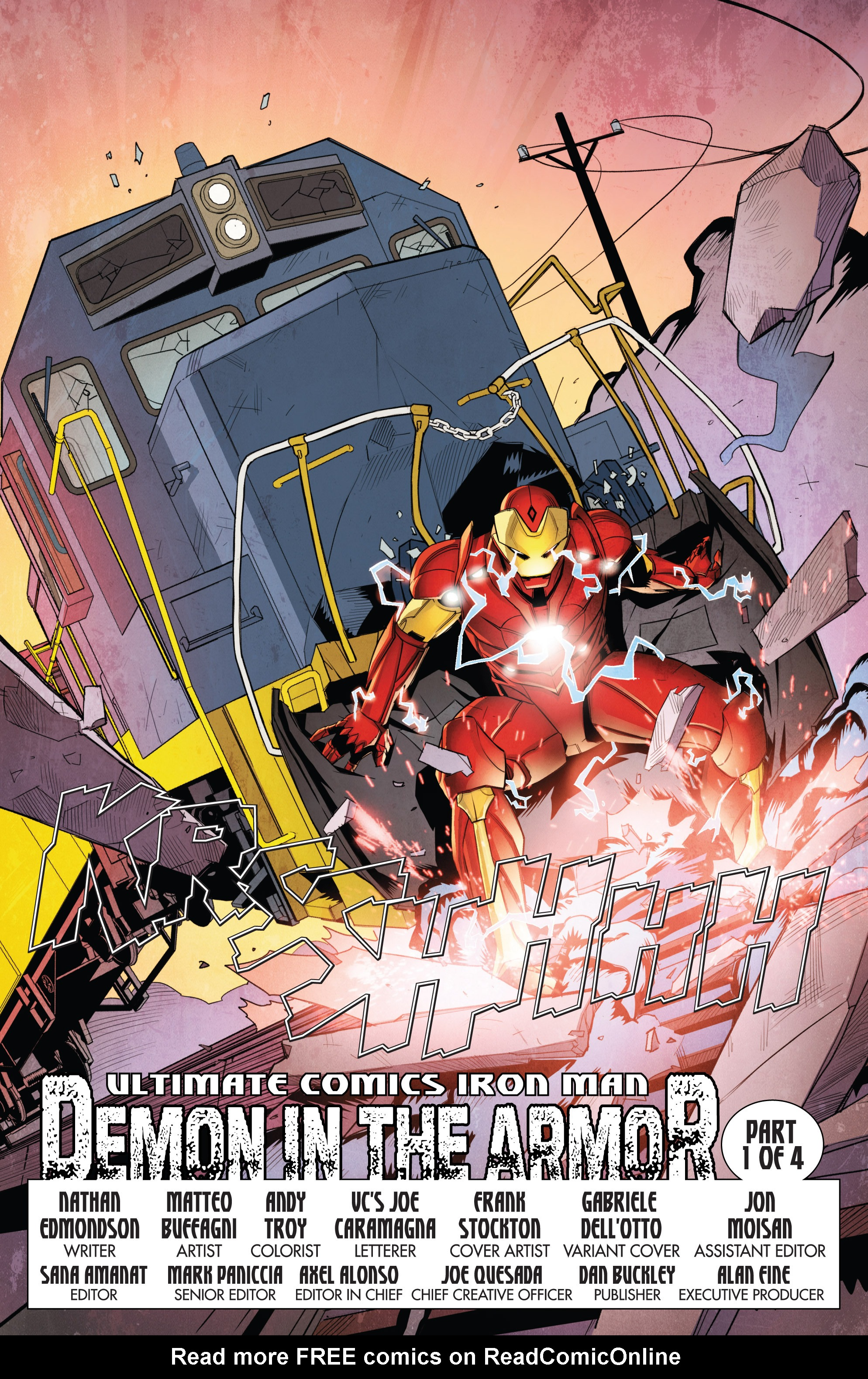 Read online Ultimate Comics Iron Man comic -  Issue #1 - 6