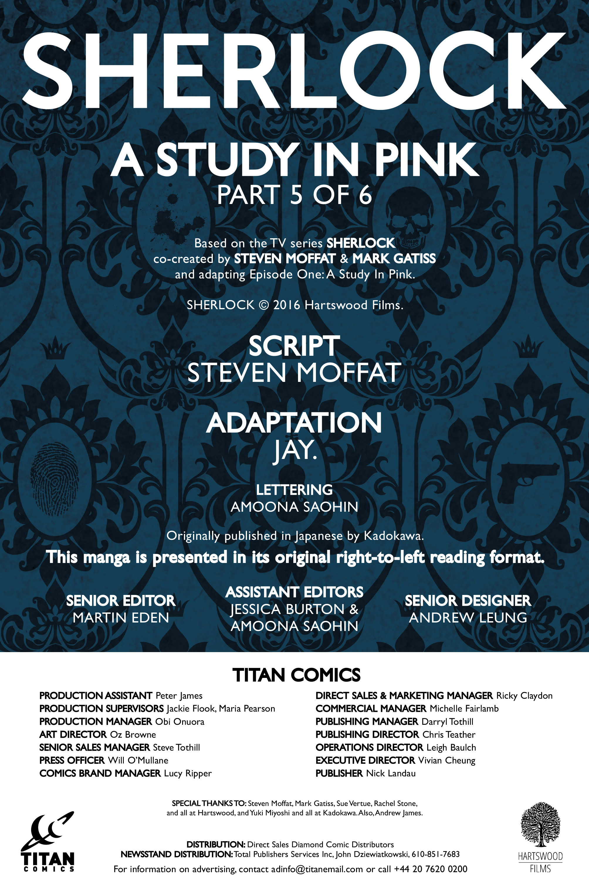 Read online Sherlock: A Study In Pink comic -  Issue #5 - 4