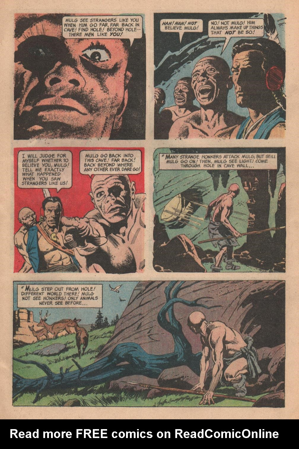 Read online Turok, Son of Stone comic -  Issue #55 - 4