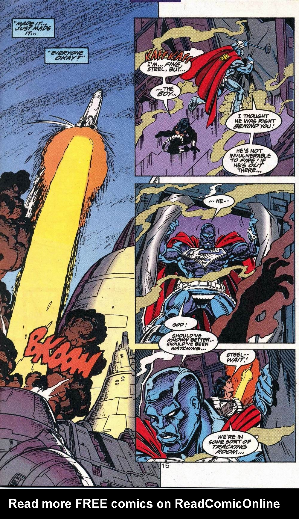 Read online Adventures of Superman (1987) comic -  Issue #504 - 16