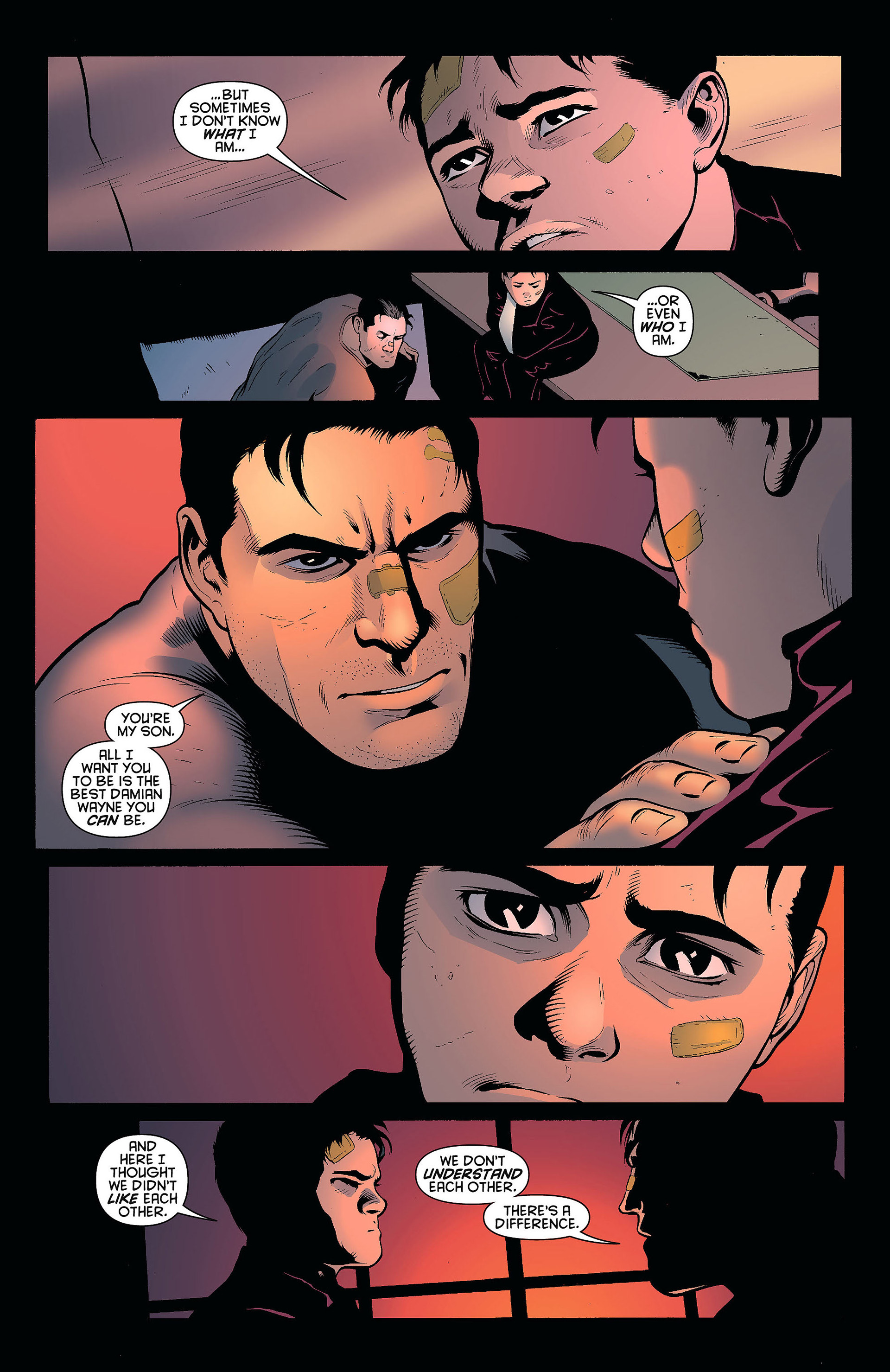 Read online Batman and Robin (2011) comic -  Issue #8 - 16