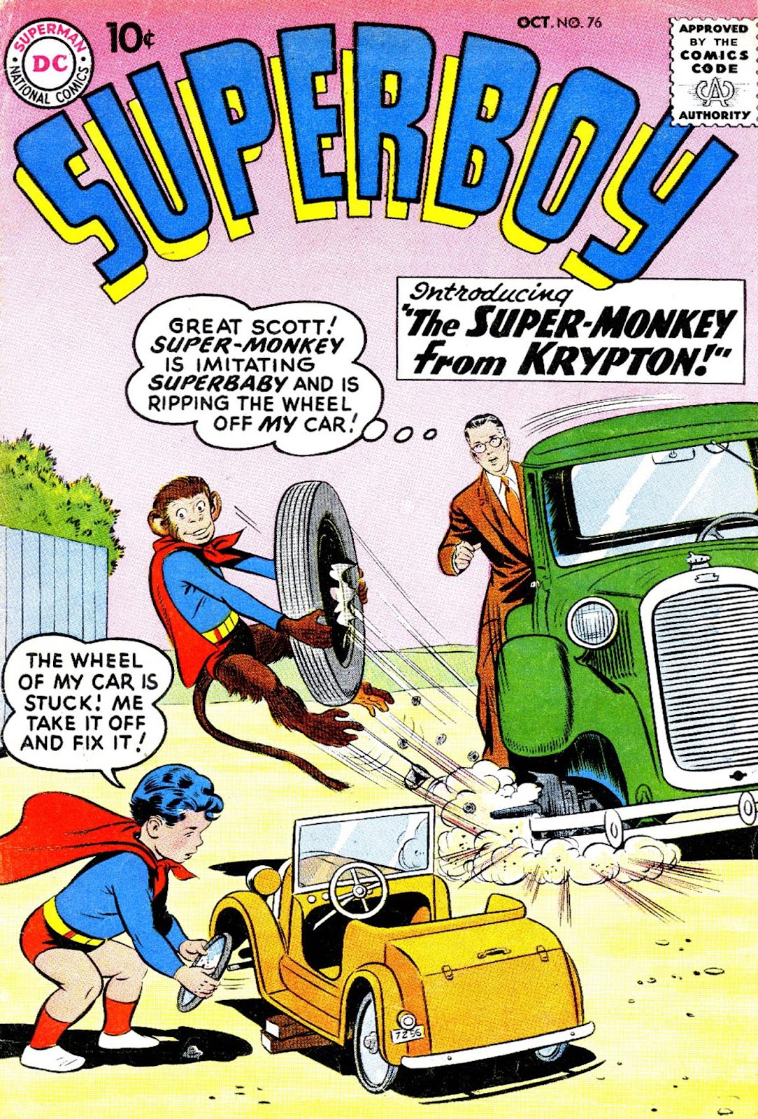 Superboy (1949) issue 76 - Page 1
