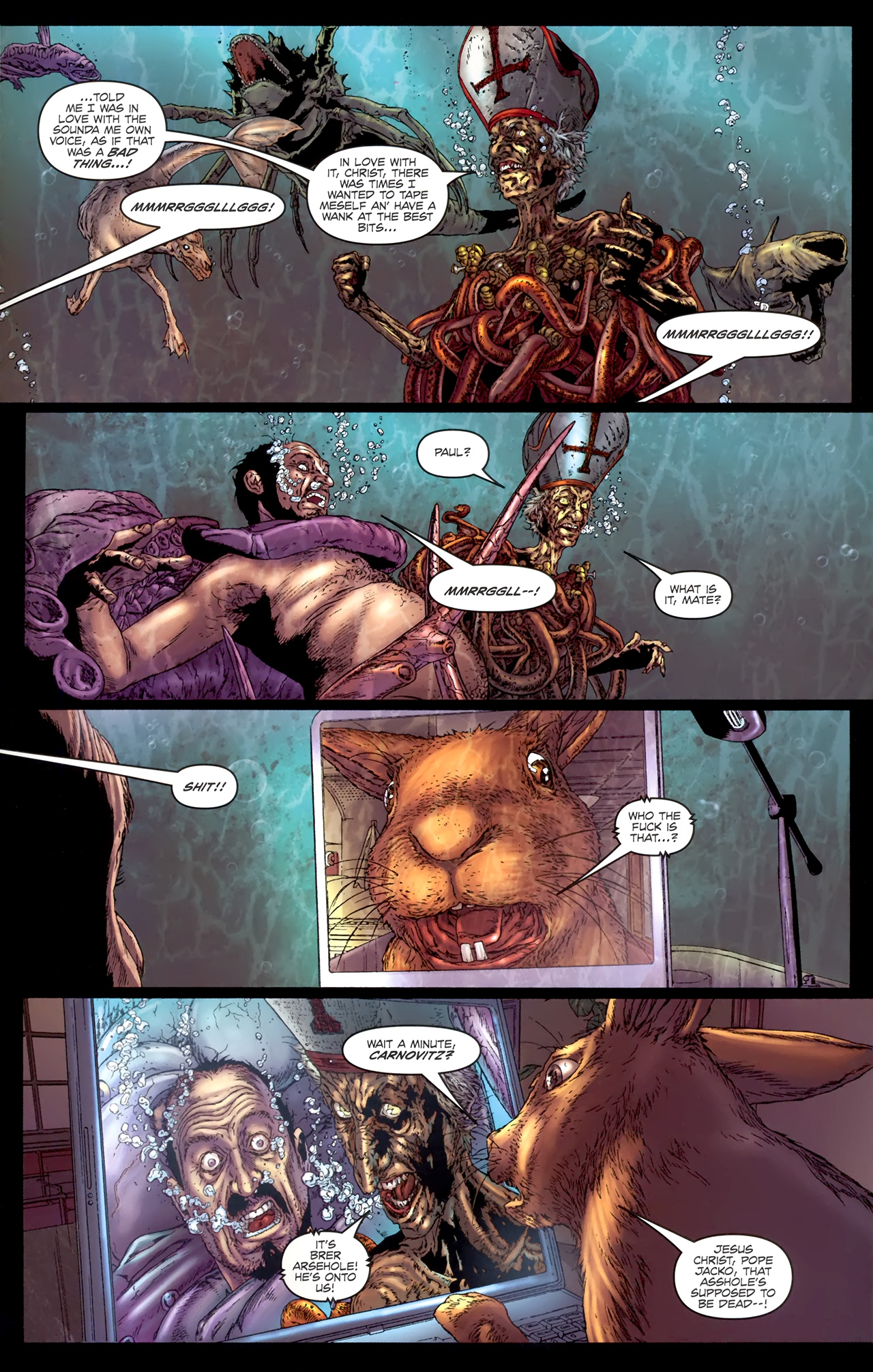 Read online Chronicles of Wormwood: The Last Battle comic -  Issue #4 - 24