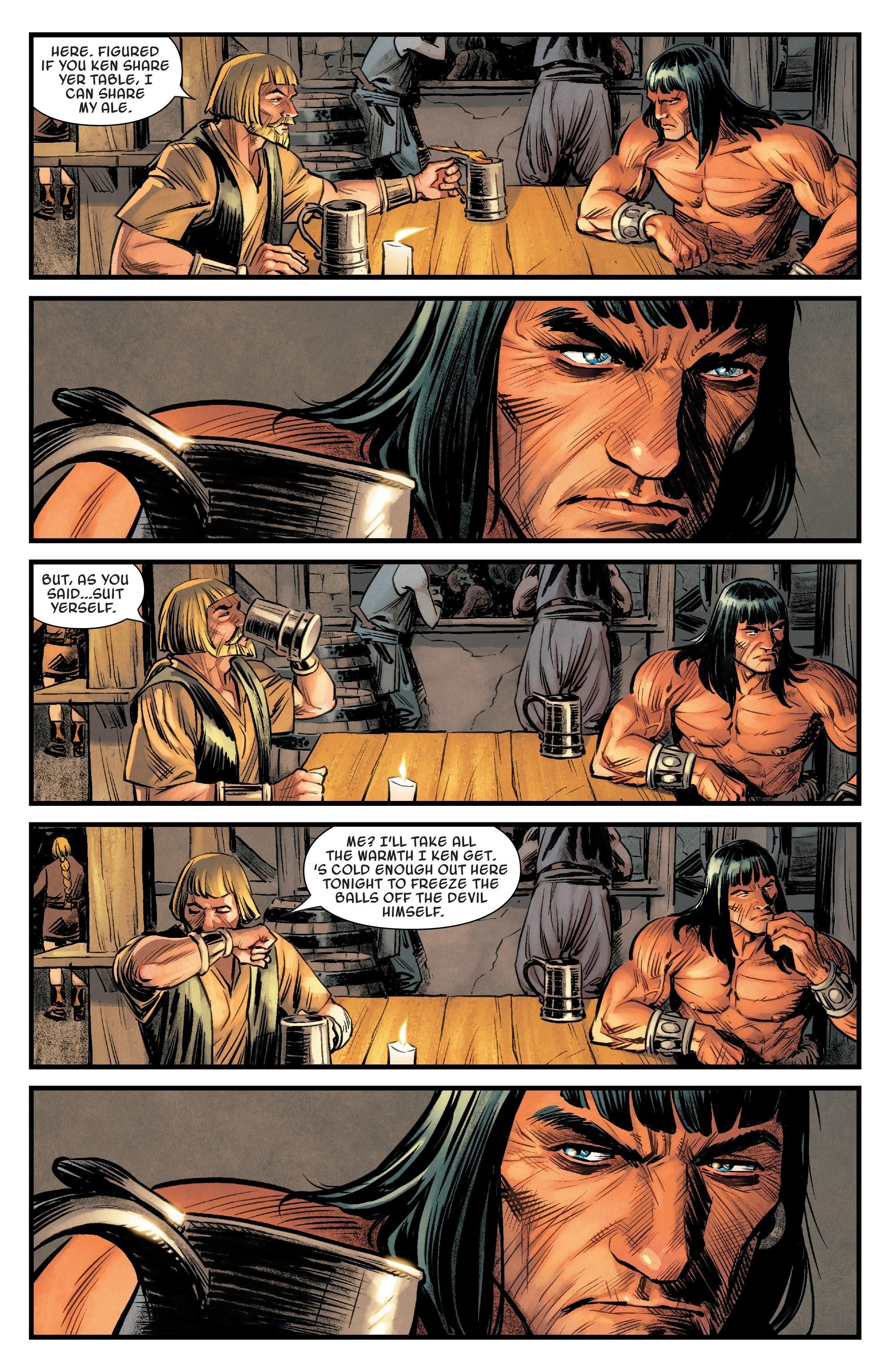 Read online Savage Sword of Conan comic -  Issue #6 - 6