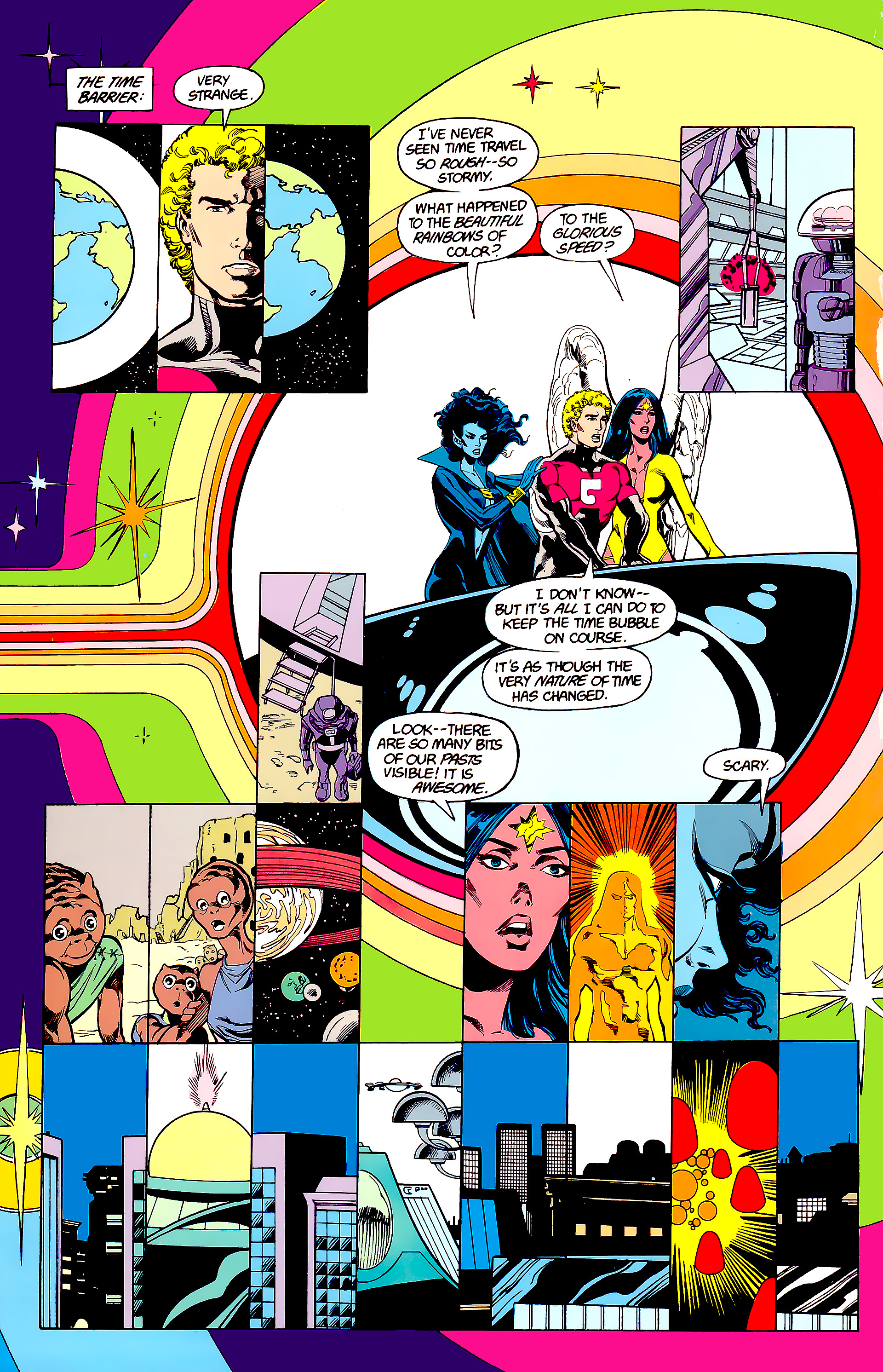 Legion of Super-Heroes (1984) 23 Page 17