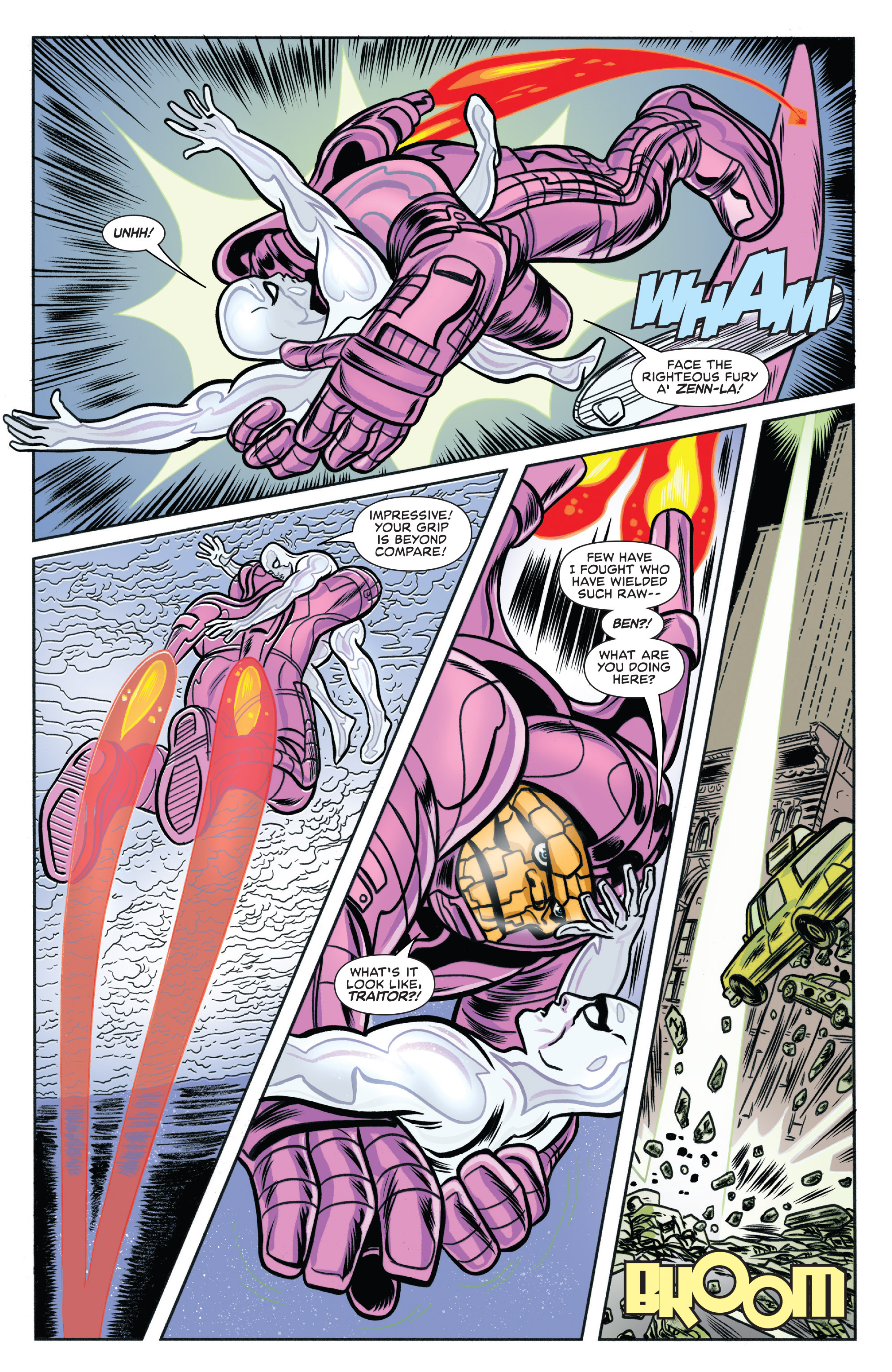 Read online Silver Surfer (2016) comic -  Issue #2 - 16