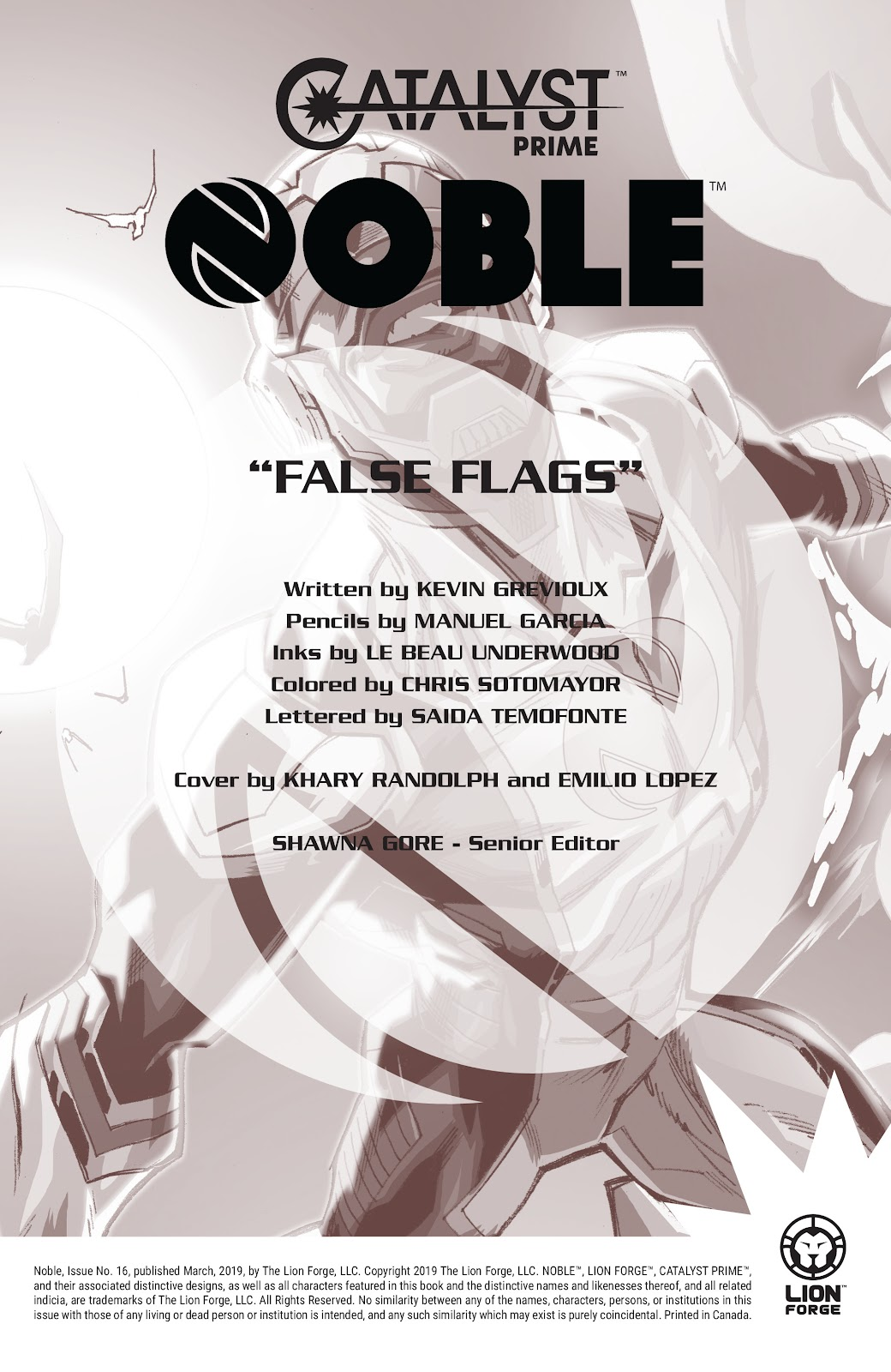 Read online Noble comic -  Issue #16 - 2