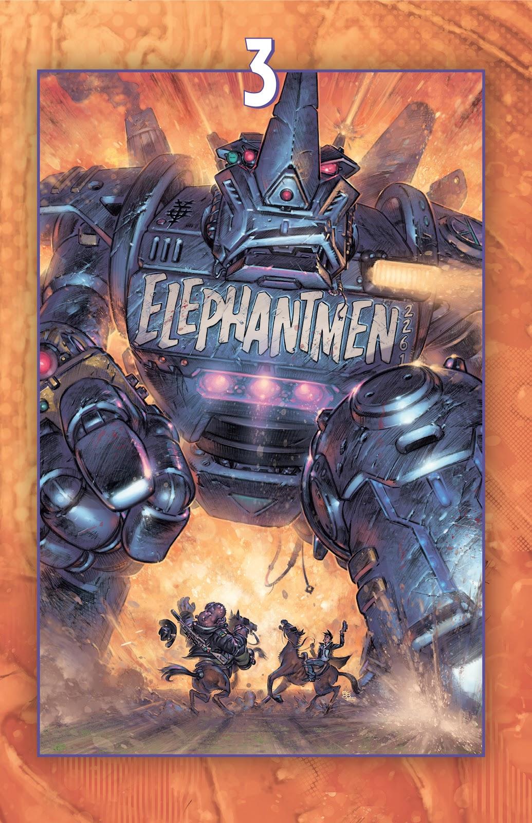 Read online Elephantmen 2261 Season Two: The Pentalion Job comic -  Issue # TPB - 51