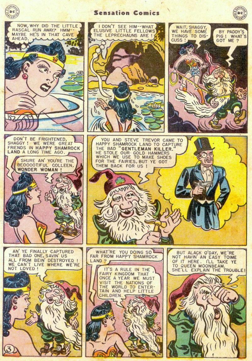Read online Sensation (Mystery) Comics comic -  Issue #75 - 4