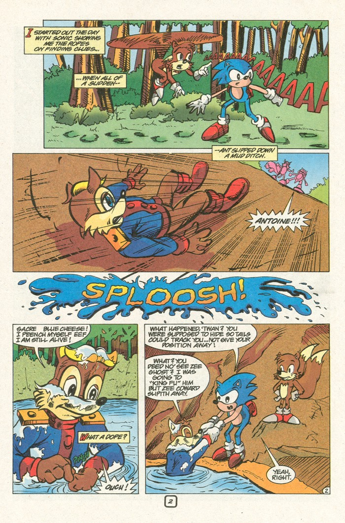 Read online Sonic Super Special comic -  Issue #8 - Giant special - 33