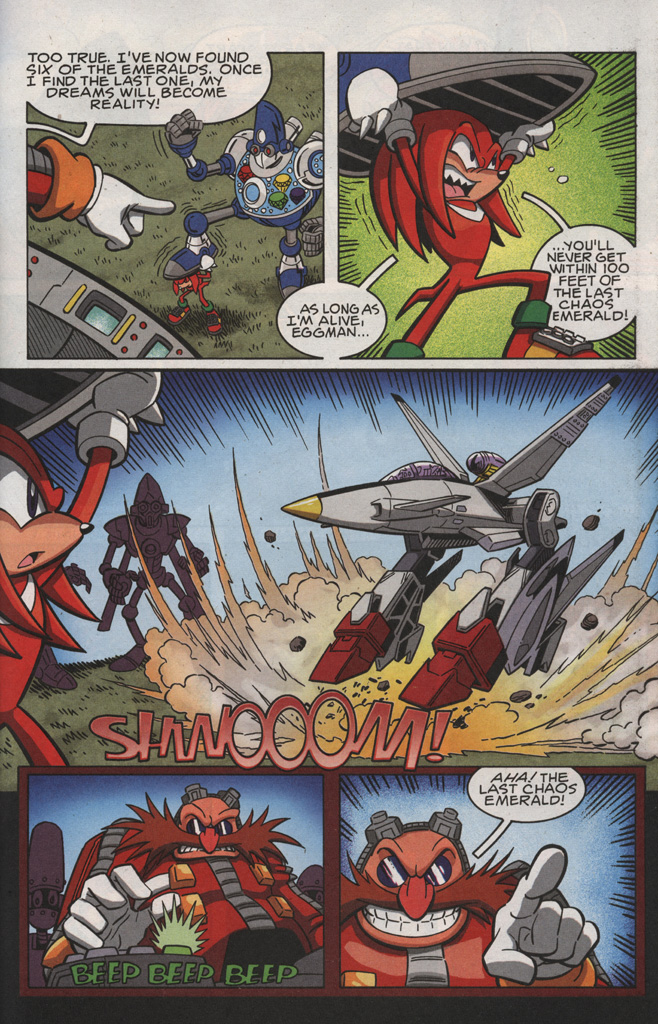 Read online Sonic X comic -  Issue #28 - 25