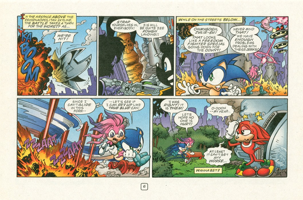 Read online Sonic Super Special comic -  Issue #12 - Sonic and Knuckles visa versa - 9