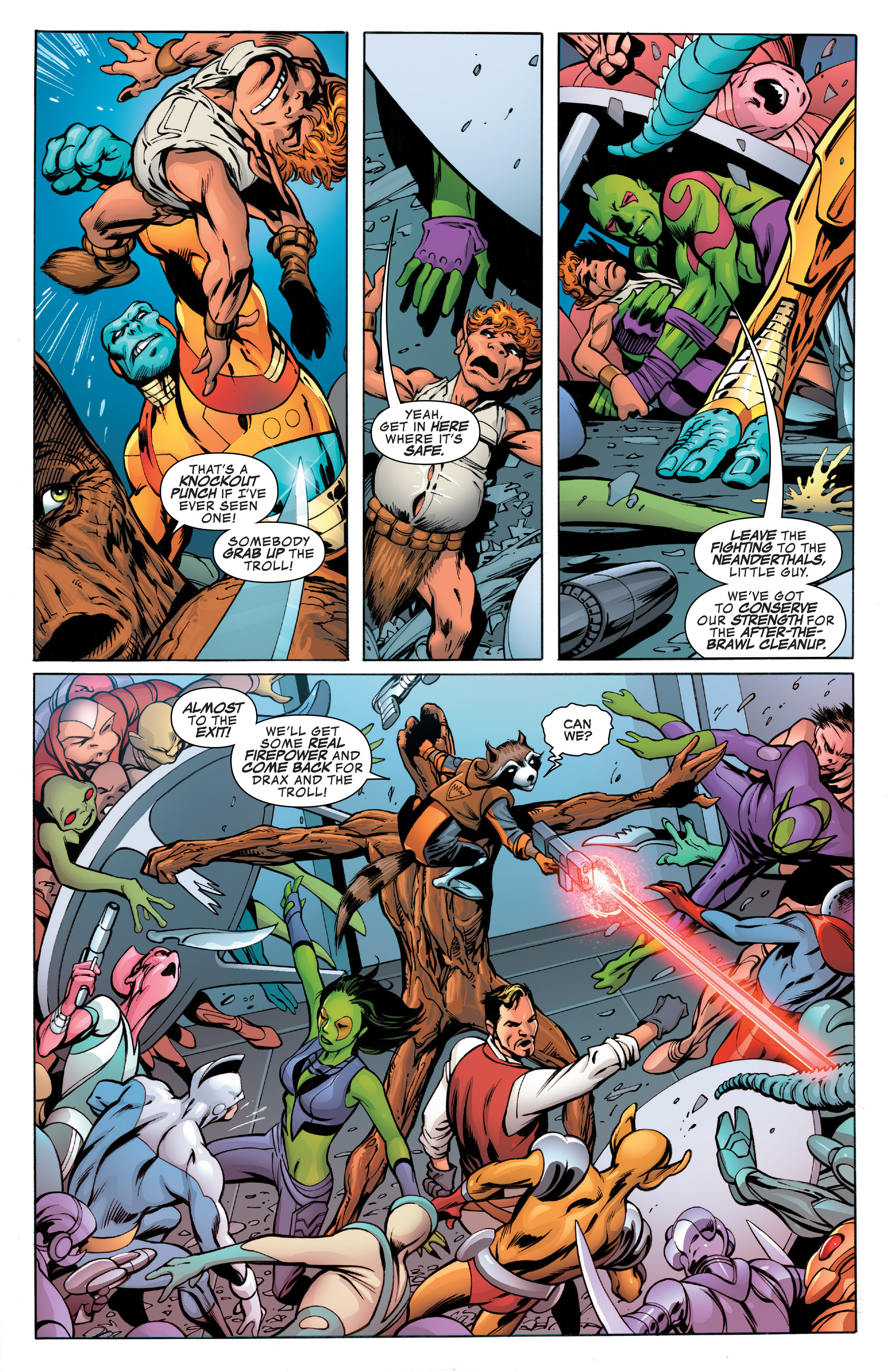 Read online Guardians of the Galaxy: Mother Entropy comic -  Issue #3 - 9