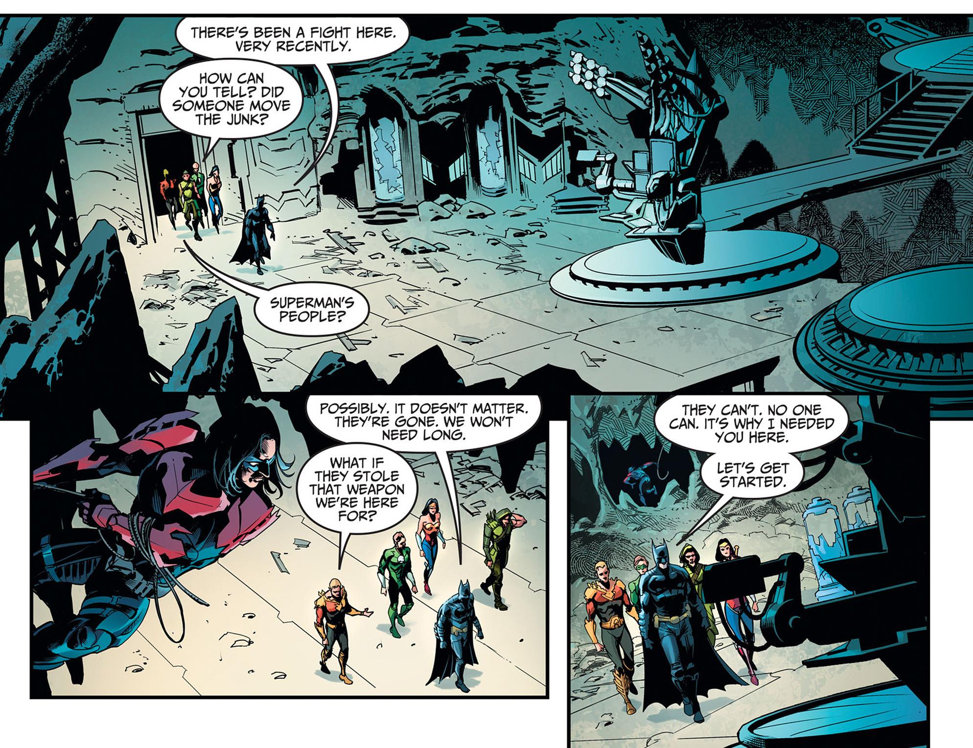Read online Injustice: Ground Zero comic -  Issue #11 - 13