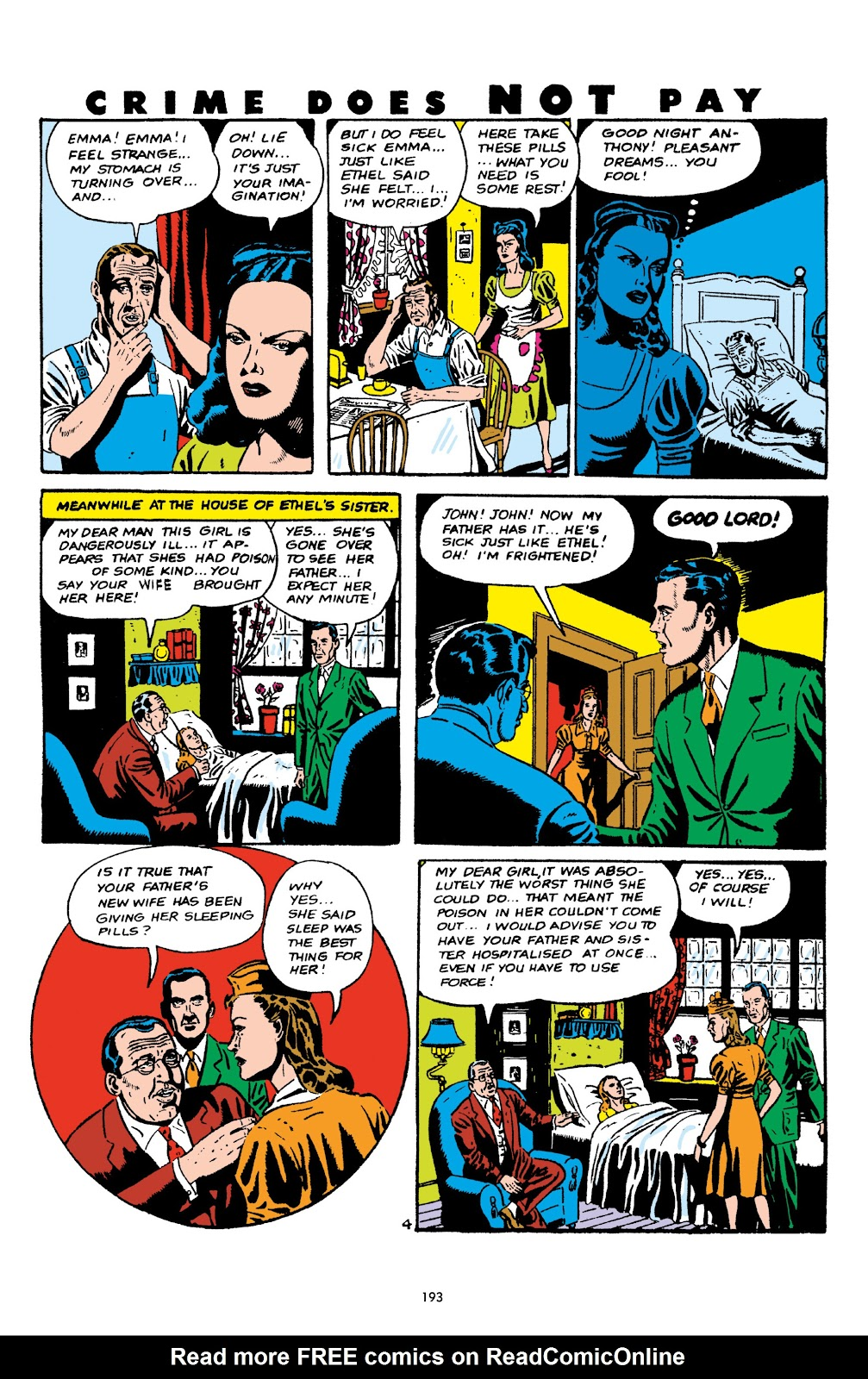Read online Crime Does Not Pay Archives comic -  Issue # TPB 5 (Part 2) - 93