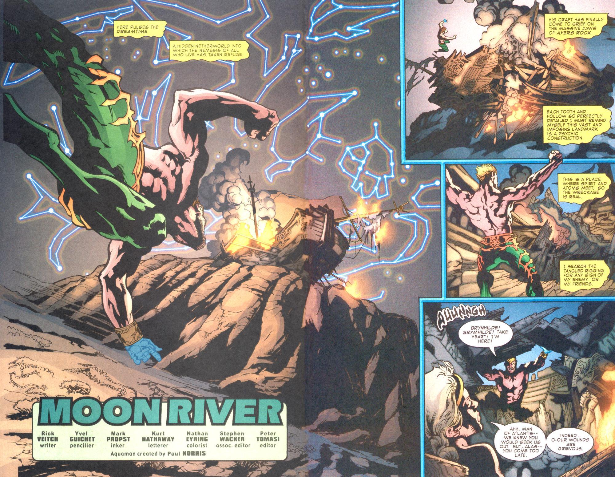 Read online Aquaman (2003) comic -  Issue #10 - 4