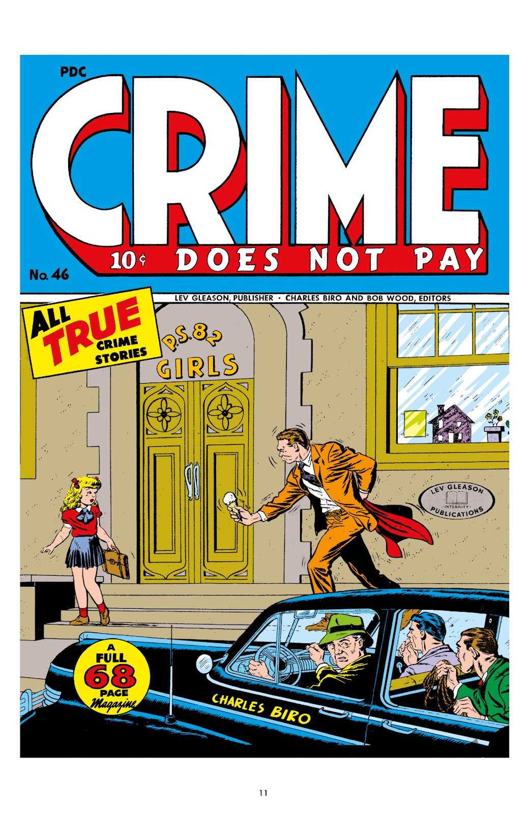 Read online Crime Does Not Pay Archives comic -  Issue # TPB 7 (Part 1) - 11
