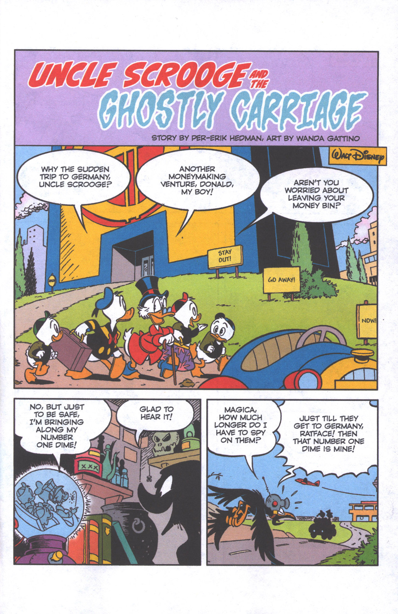 Read online Uncle Scrooge (1953) comic -  Issue #384 - 4