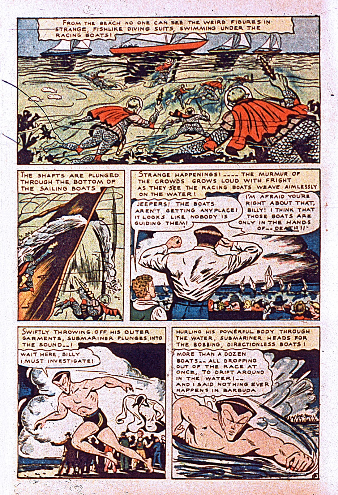 Daring Comics issue 10 - Page 6